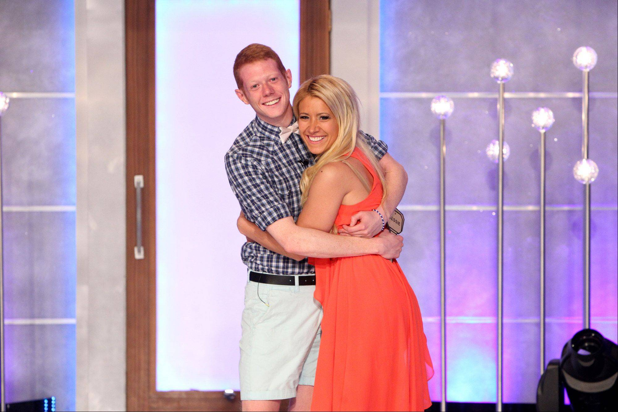 Big Brother Winner, Andy Herren and GinaMarie Zimmerman during the BIG BROTHER Finale Wednesday, September 18.