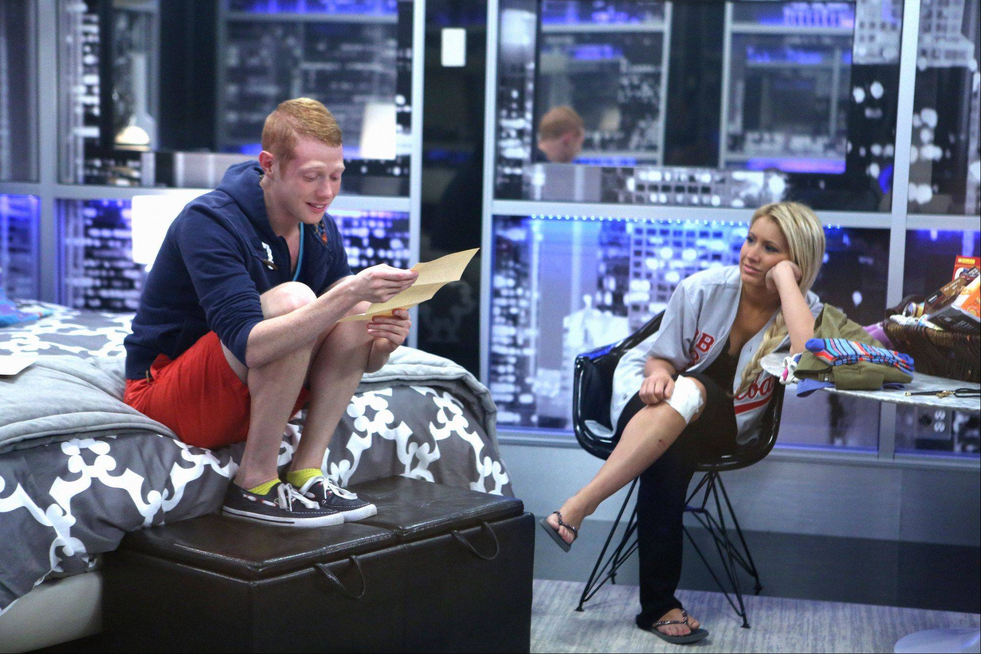 Houseguests, Spencer and Andy, on BIG BROTHER Wednesday, September 11.
