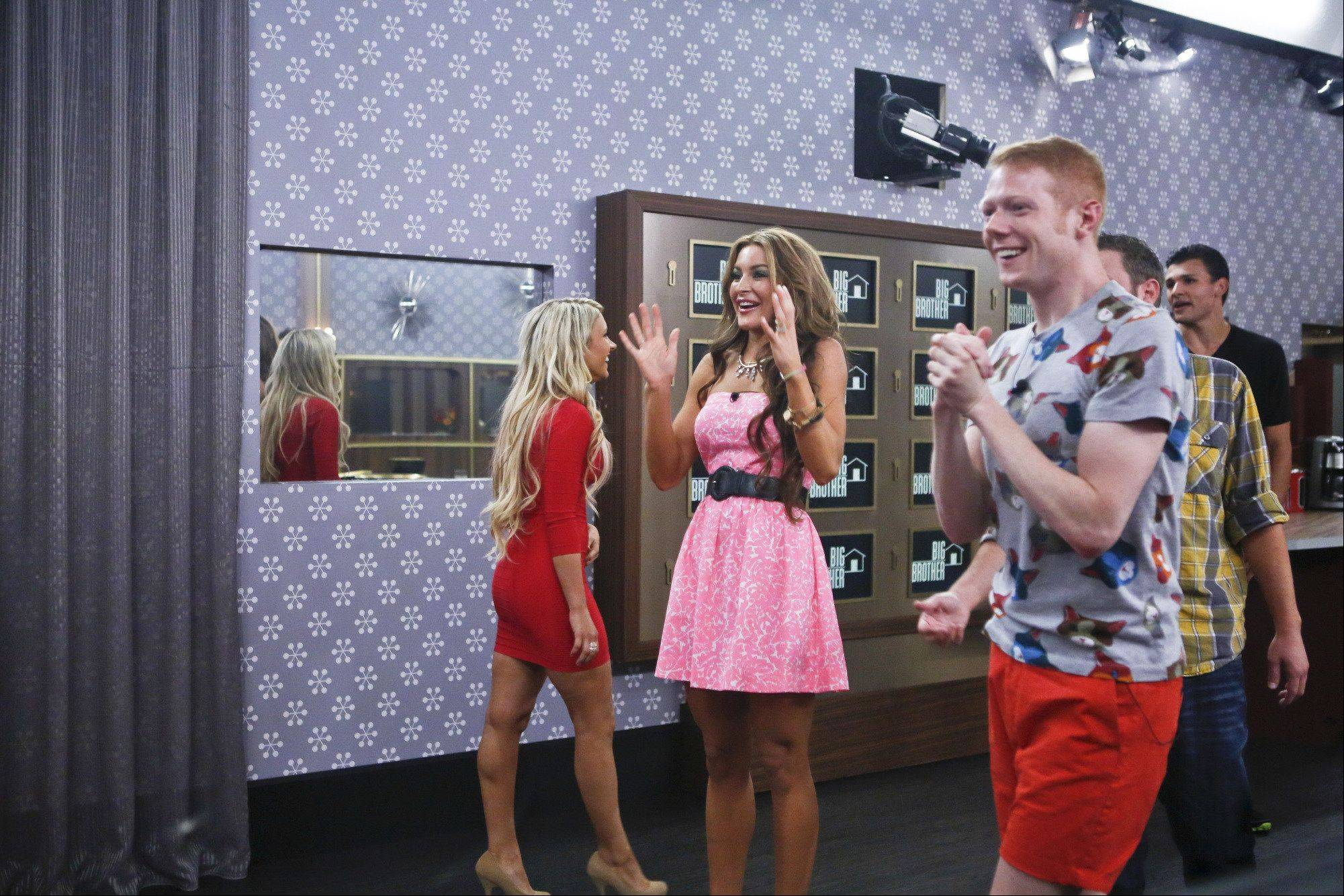 Houseguest, Elissa and Andy, during the season premiere of BIG BROTHER on Wednesday, June 26 .