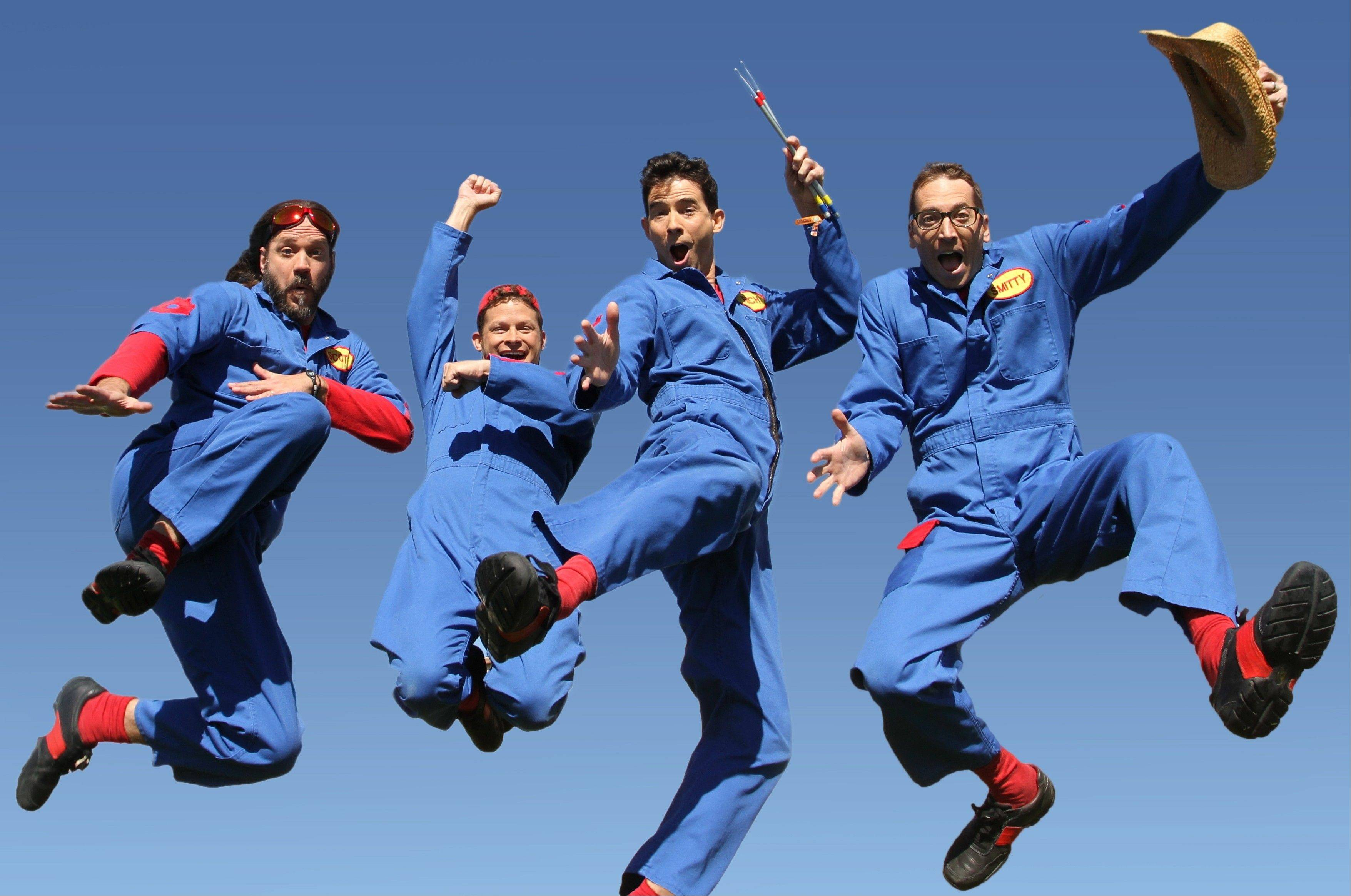Disney Junior�s �Imagination Movers� comes to the Paramount Theatre in Aurora in May.