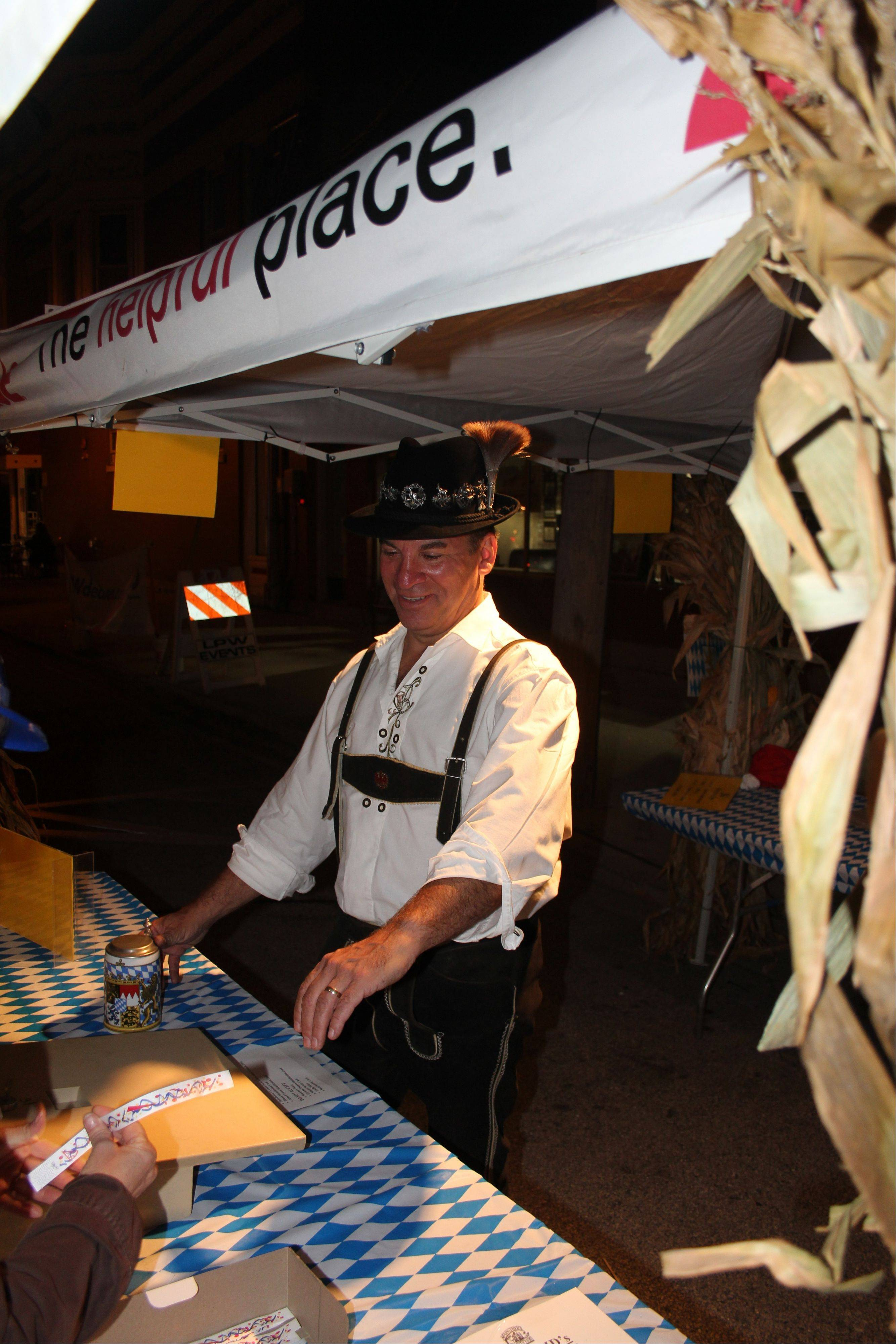 MainStreet Libertyville Oktoberfest committee member Gary Devroy. This year�s event will be held from 4-11 p.m. Saturday, Sept. 28, on Church Street in Libertyville.