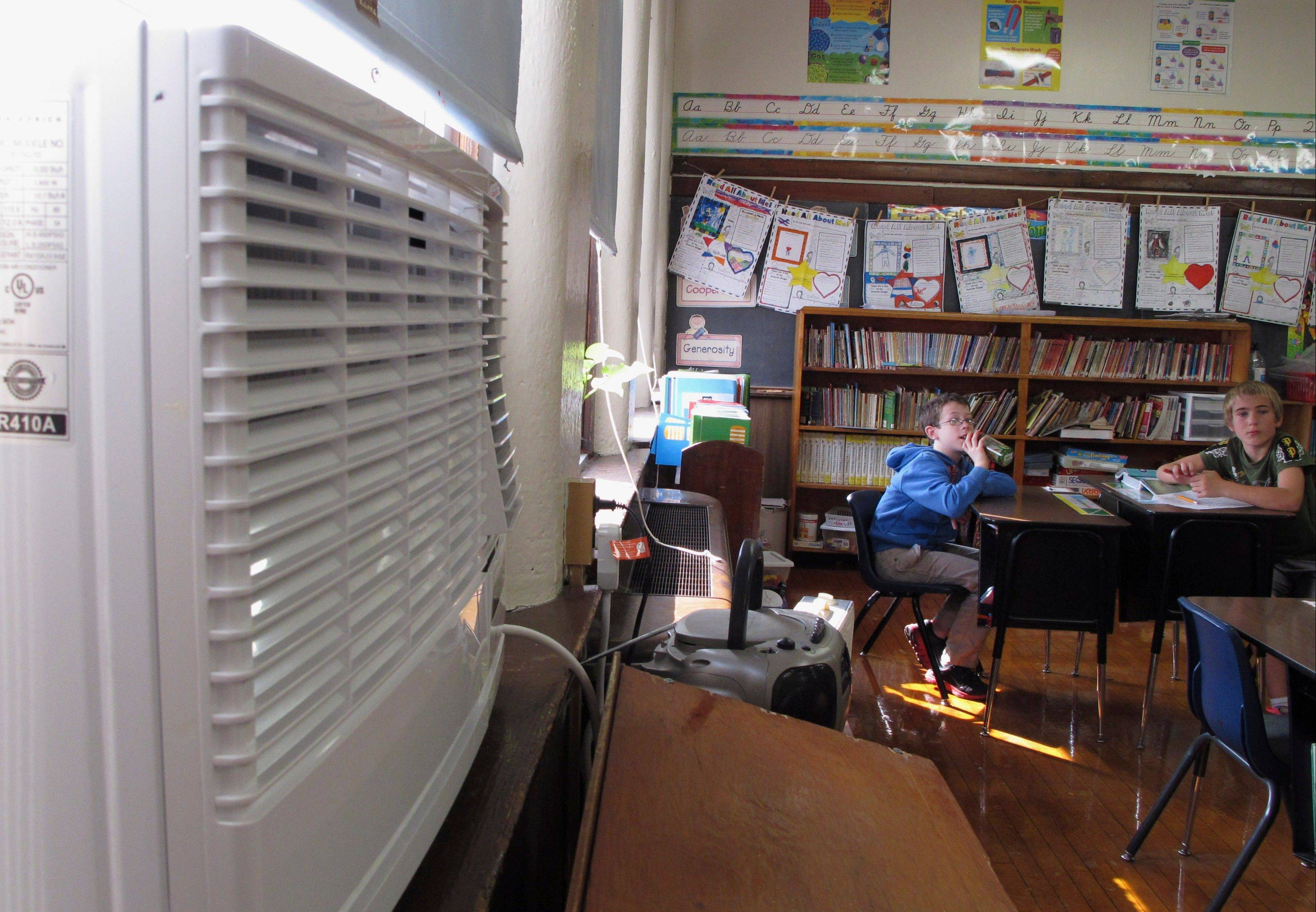 Texas-based Friedrich Air Conditioning Co. donated air conditioners to Bement Elementary School in Bement, Ill., after reading in an Associated Press story that it lacked air conditioning and was forced to send students home early on hot days.