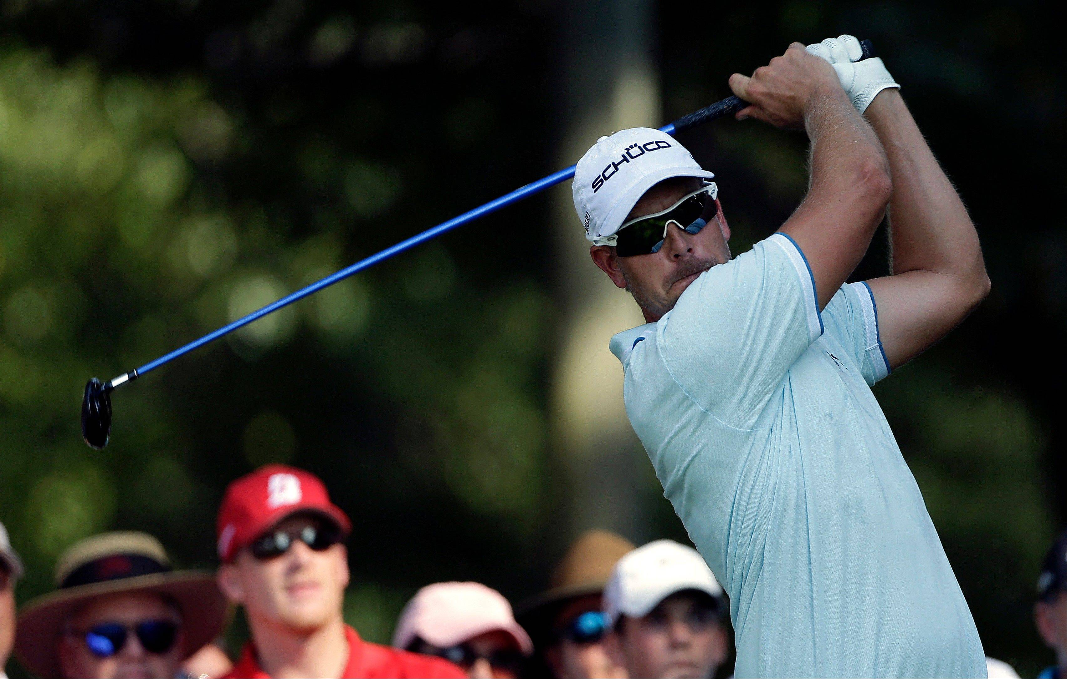 Stenson builds 4-shot lead at East Lake