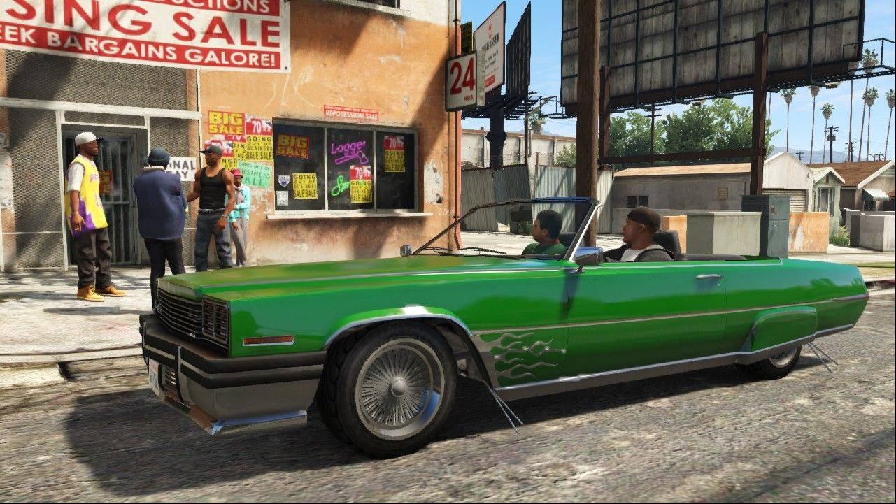 "Associated PressThis publicity photo released by Rockstar Games shows a screen shot from the video game, ""Grand Theft Auto V."""