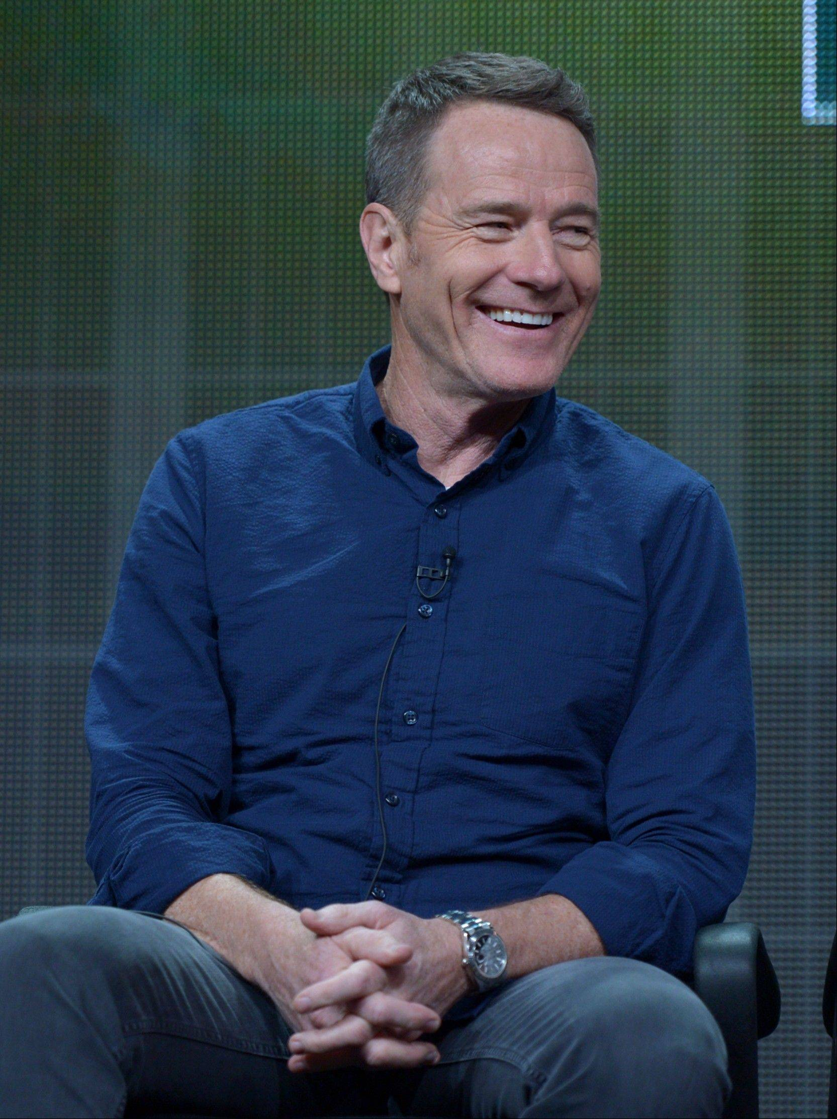 "Bryan Cranston will star as blacklisted screenwriter Dalton Trumbo in a film that will be his first after wrapping ""Breaking Bad."""
