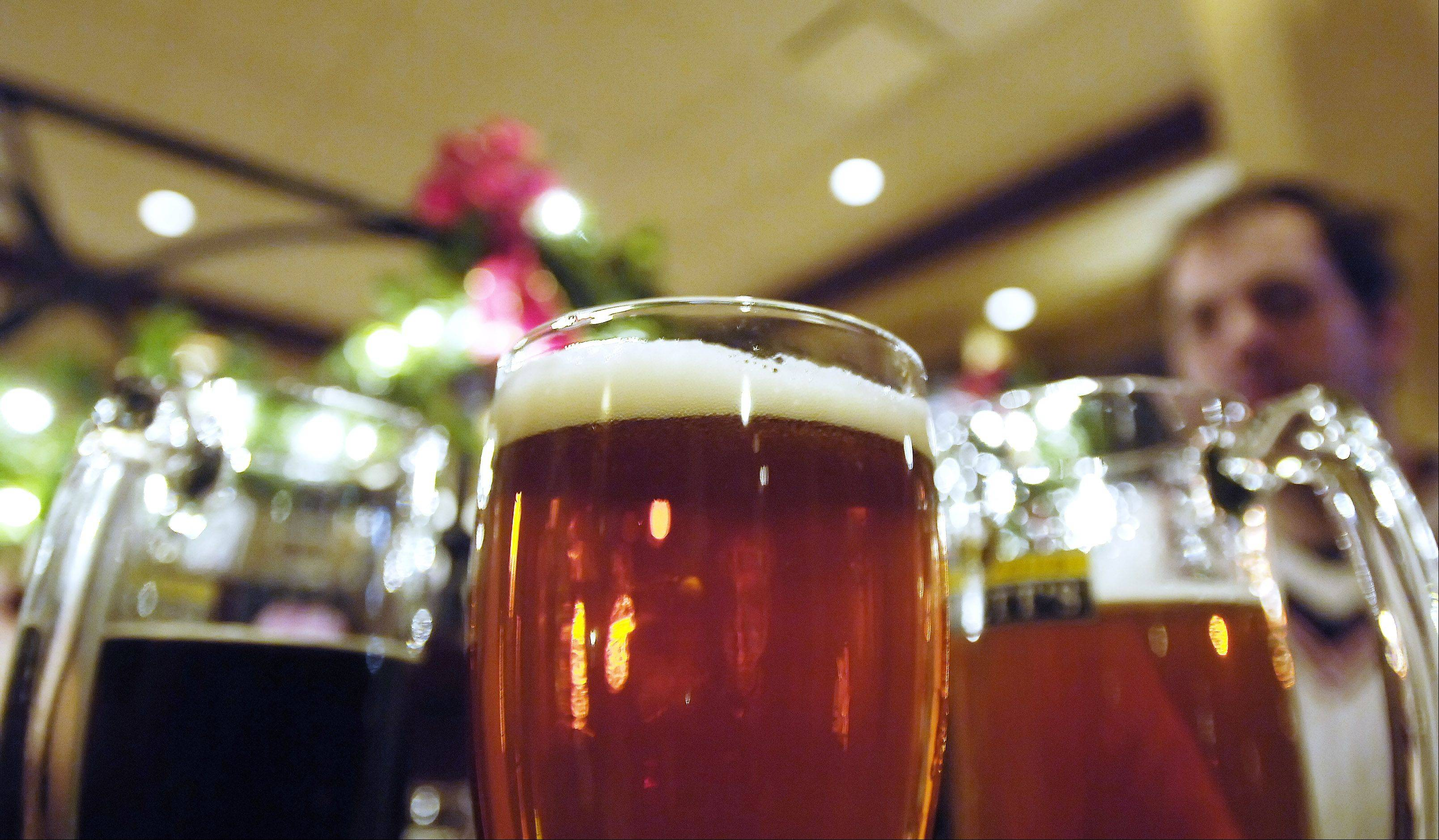 Emmett's Tavern and Brewing Company in West Dundee focuses on traditional brews.
