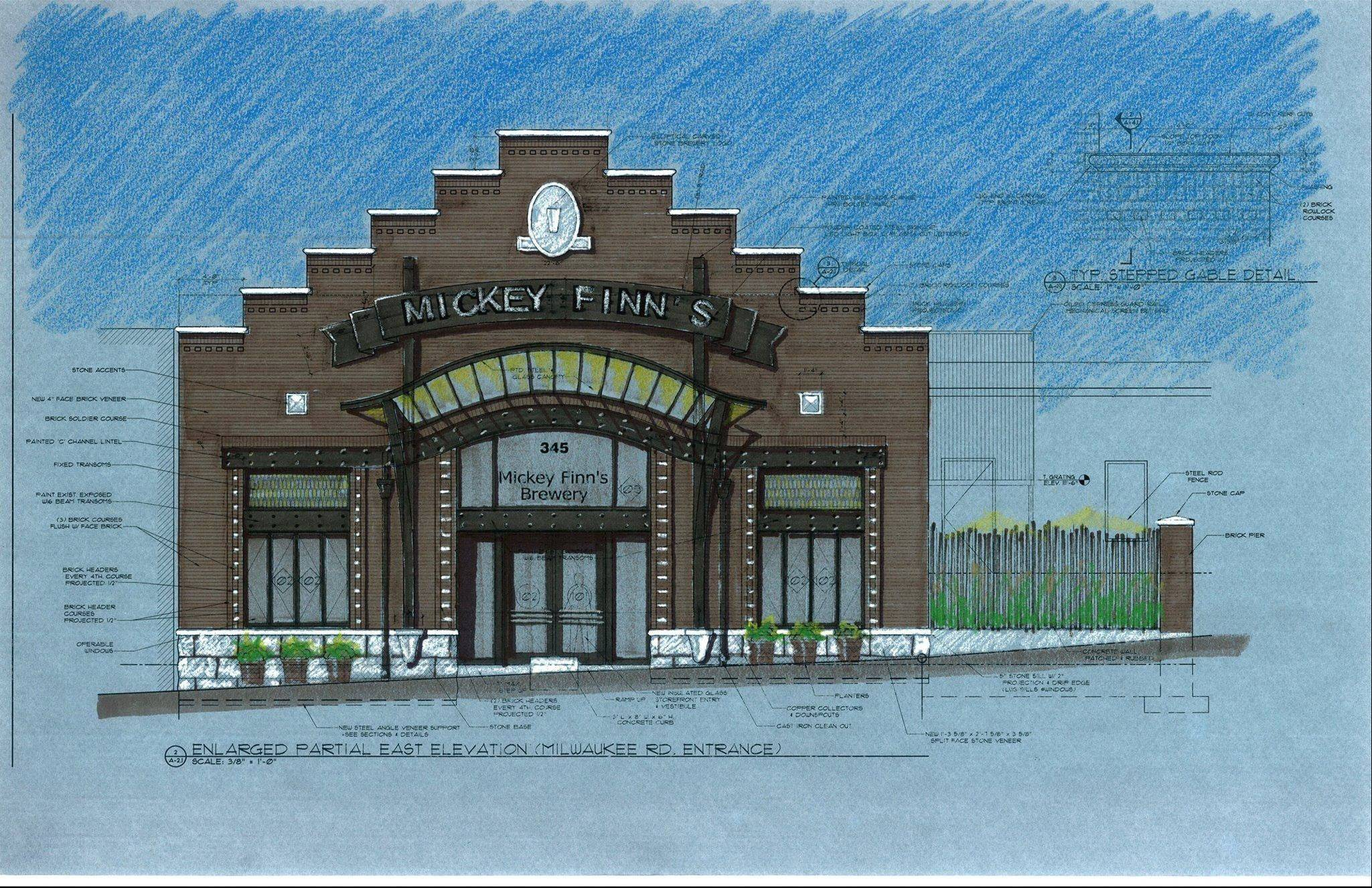 Mickey Finn's expects to move to a new Libertyville location in January that will double the space devoted to brewing.