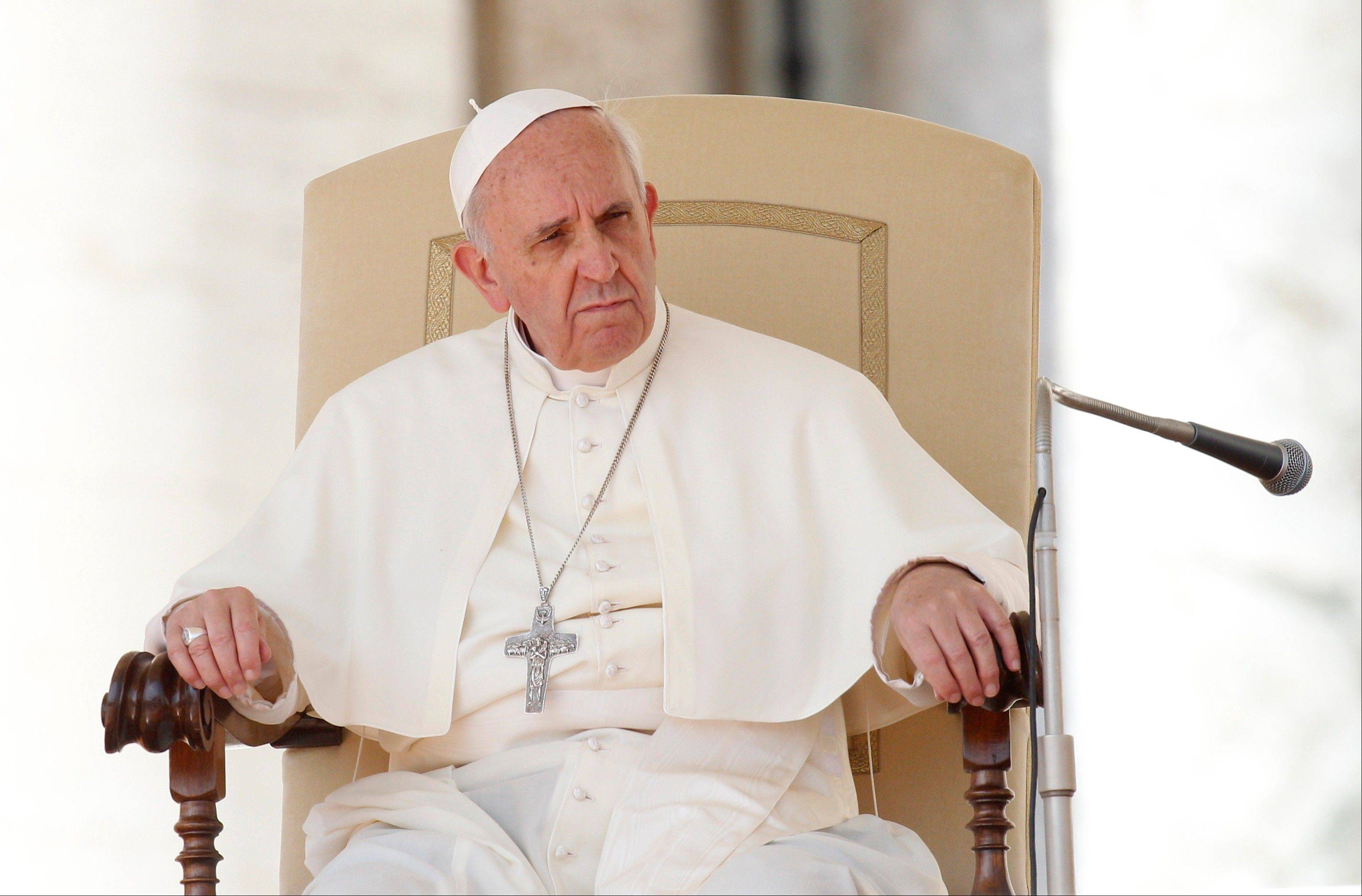 "Pope Francis offered an olive branch of sorts to the doctrine-minded, conservative wing of the Catholic Church on Friday as he denounced abortion as a symptom of today's ""throw-away culture"" and encouraged Catholic doctors to refuse to perform them."