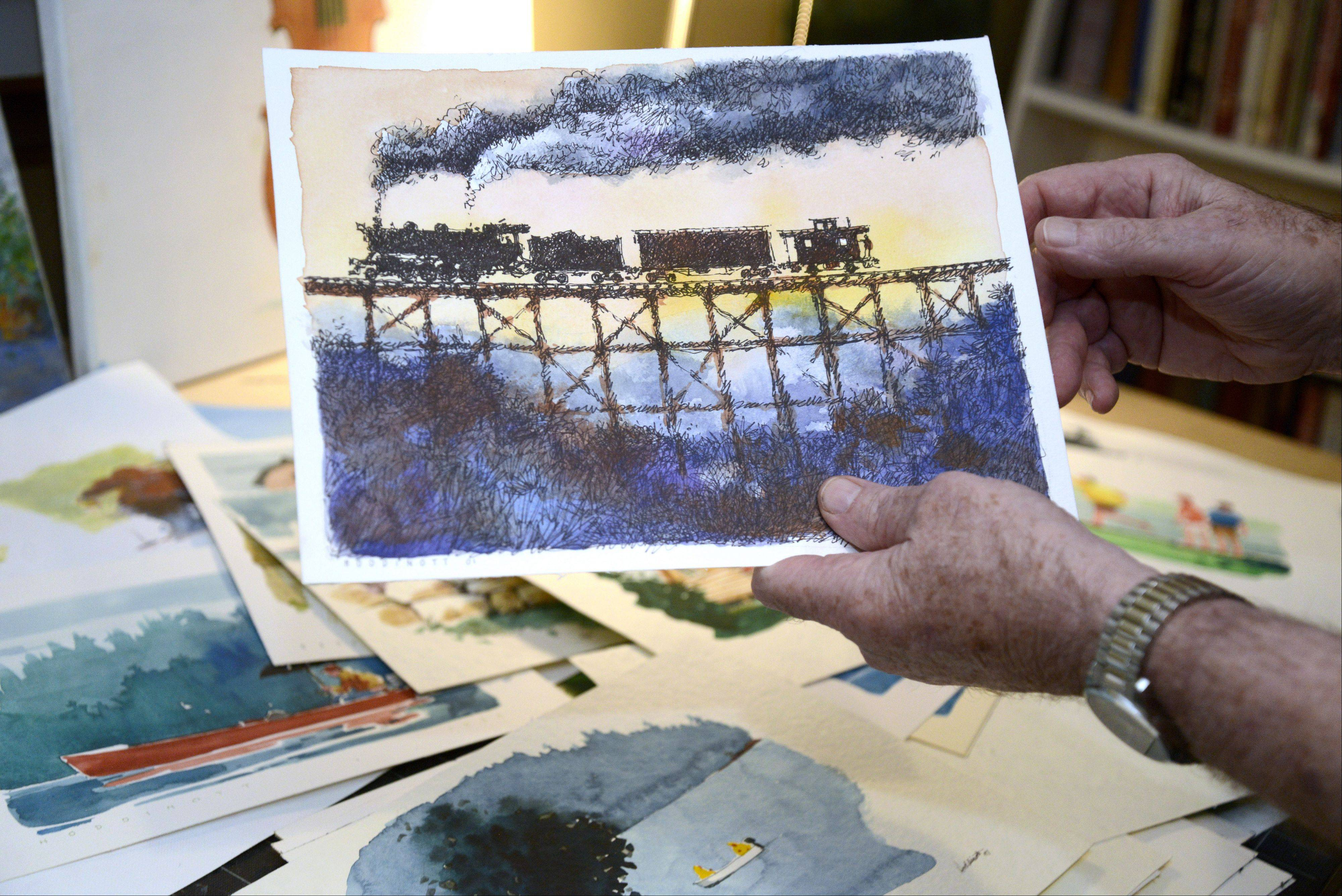 Bert Hoddinott Jr. of St. Charles now has his work displayed in a coffee-table book.