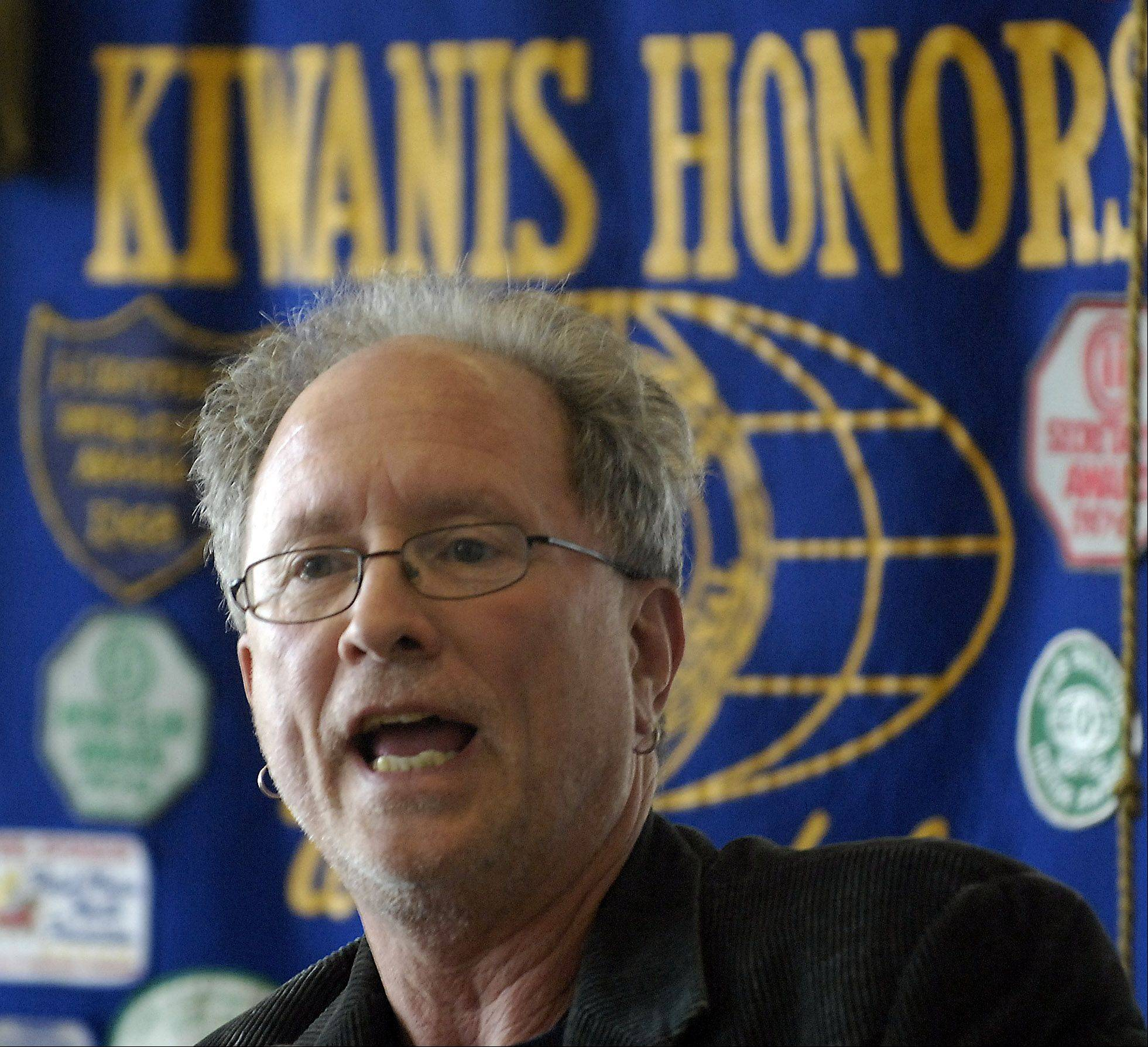 William Ayers invitation to speak this week as part of Elgin Community College�s Humanities Center Speakers Series has led to criticism of the school.