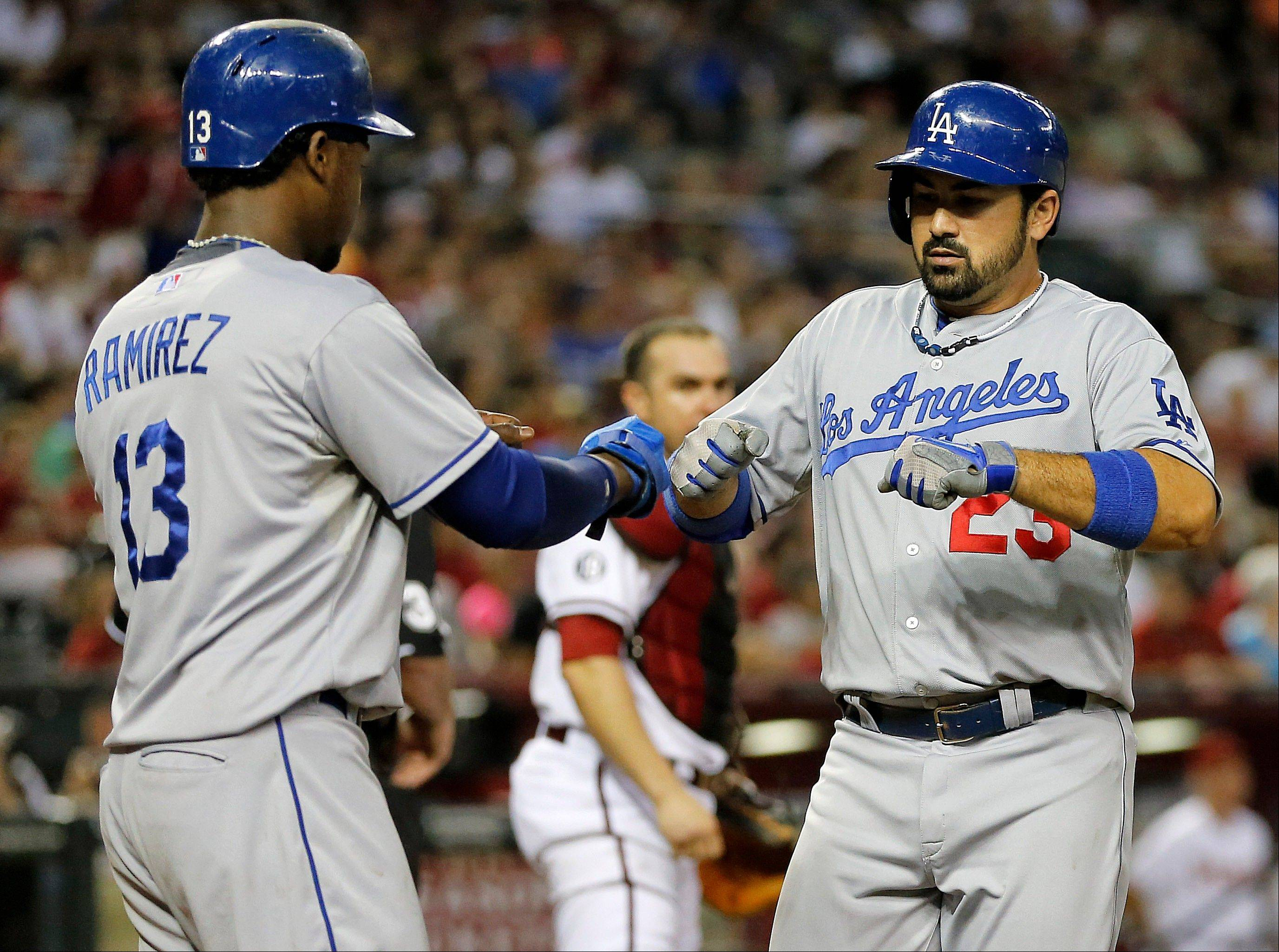 Adrian Gonzalez has been a solid addition to the Los Angeles Dodgers' lineup.
