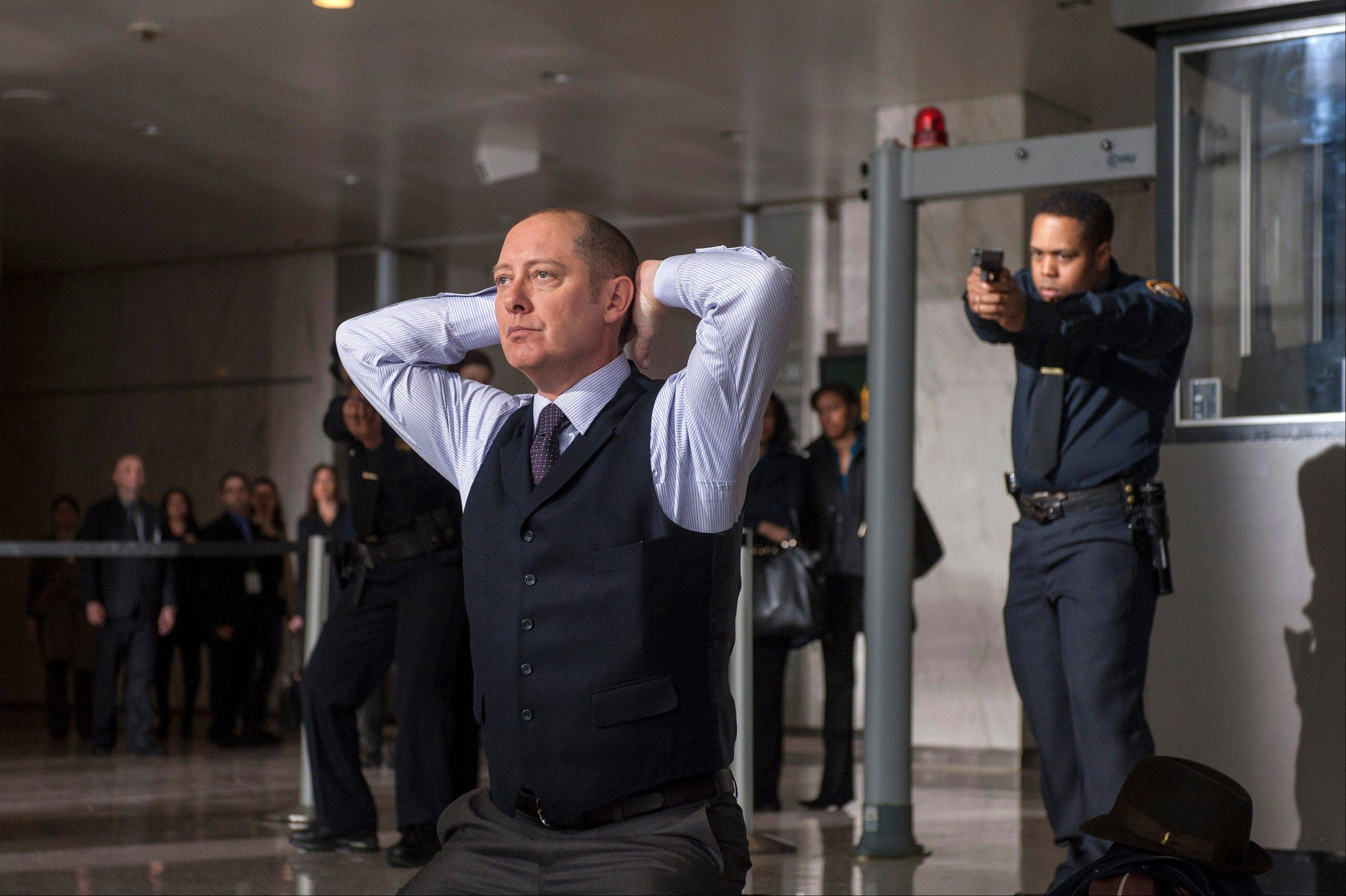 "James Spader plays ""Red"" Raymond Reddington in ""The Blacklist,"" premiering Monday, Sept. 23."
