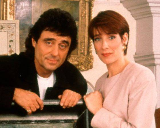 "Before ""Downton Abbey,"" perhaps Phyllis Logan's best-known work was opposite Ian McShane in ""Lovejoy."""