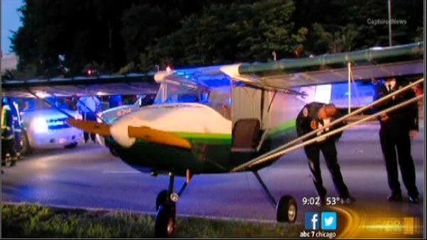 Lombard pilot recounts Lake Shore Drive landing