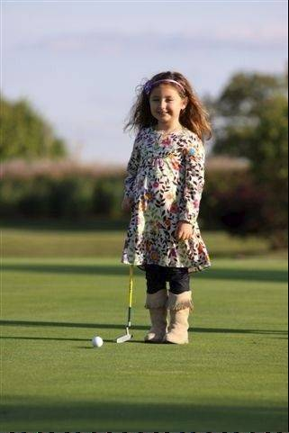 The poster girl for the Birdies for Babies charity, Jordan Trader now is a 7-year-old first-grader with a 4-year-old brother named Breckin. Their parents, Todd and Melissa Trader, started the unusual charity and say this year's annual golf event in Naperville will fund fertility treatments for a Des Plaines couple.