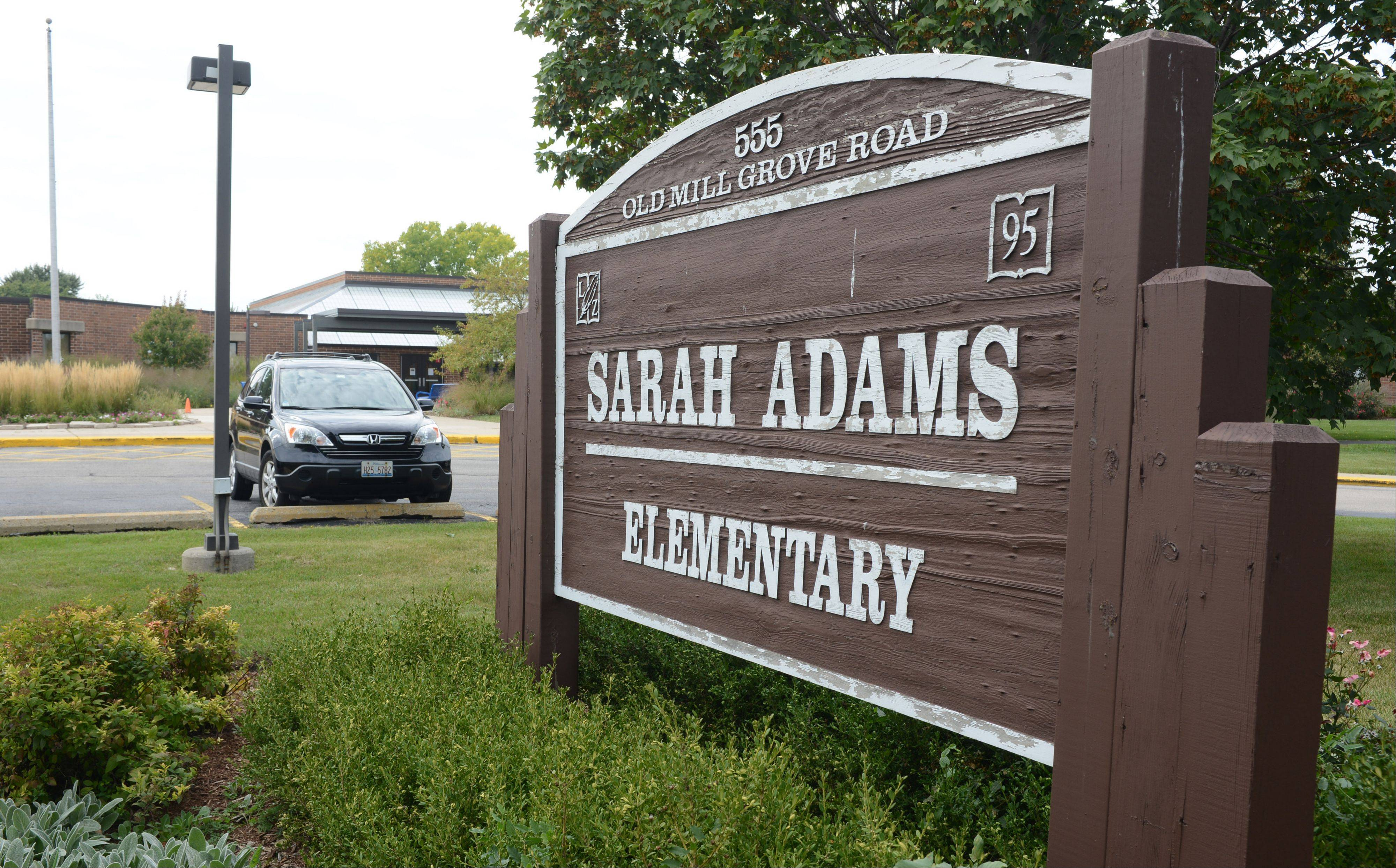Sarah Adams Elementary School in Lake Zurich is among the five without central air conditioning in Lake Zurich Unit District 95.