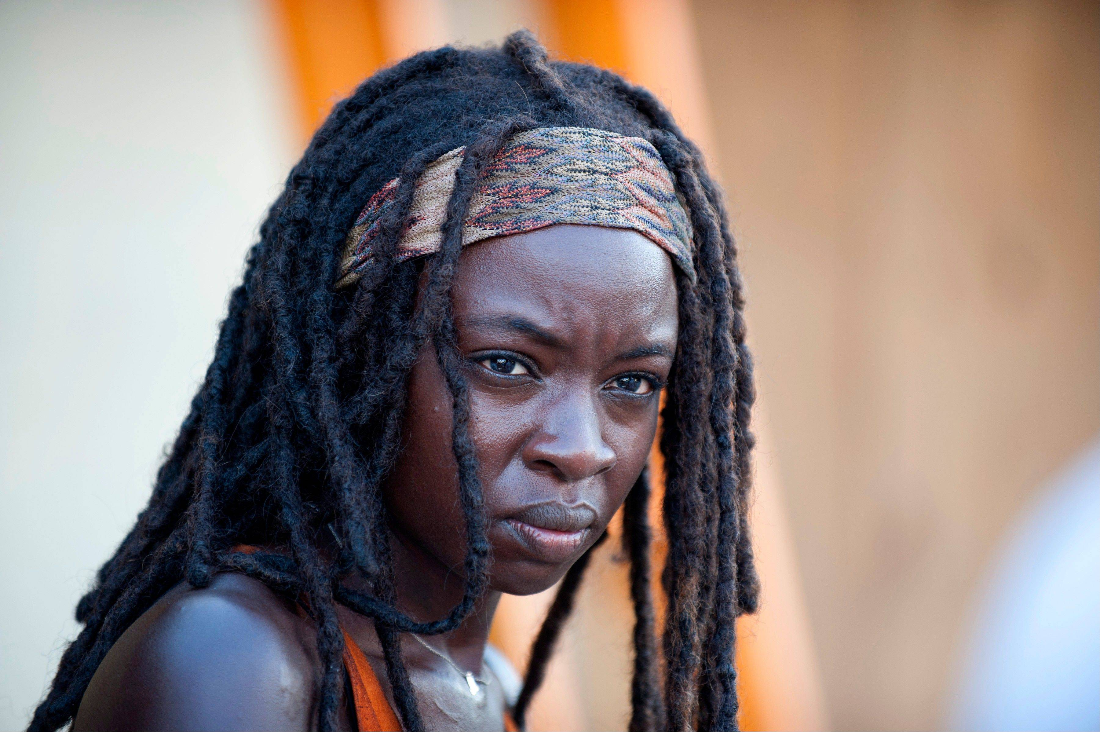 "Danai Gurira will mark her second full season as Michonne in AMC's ""The Walking Dead."""