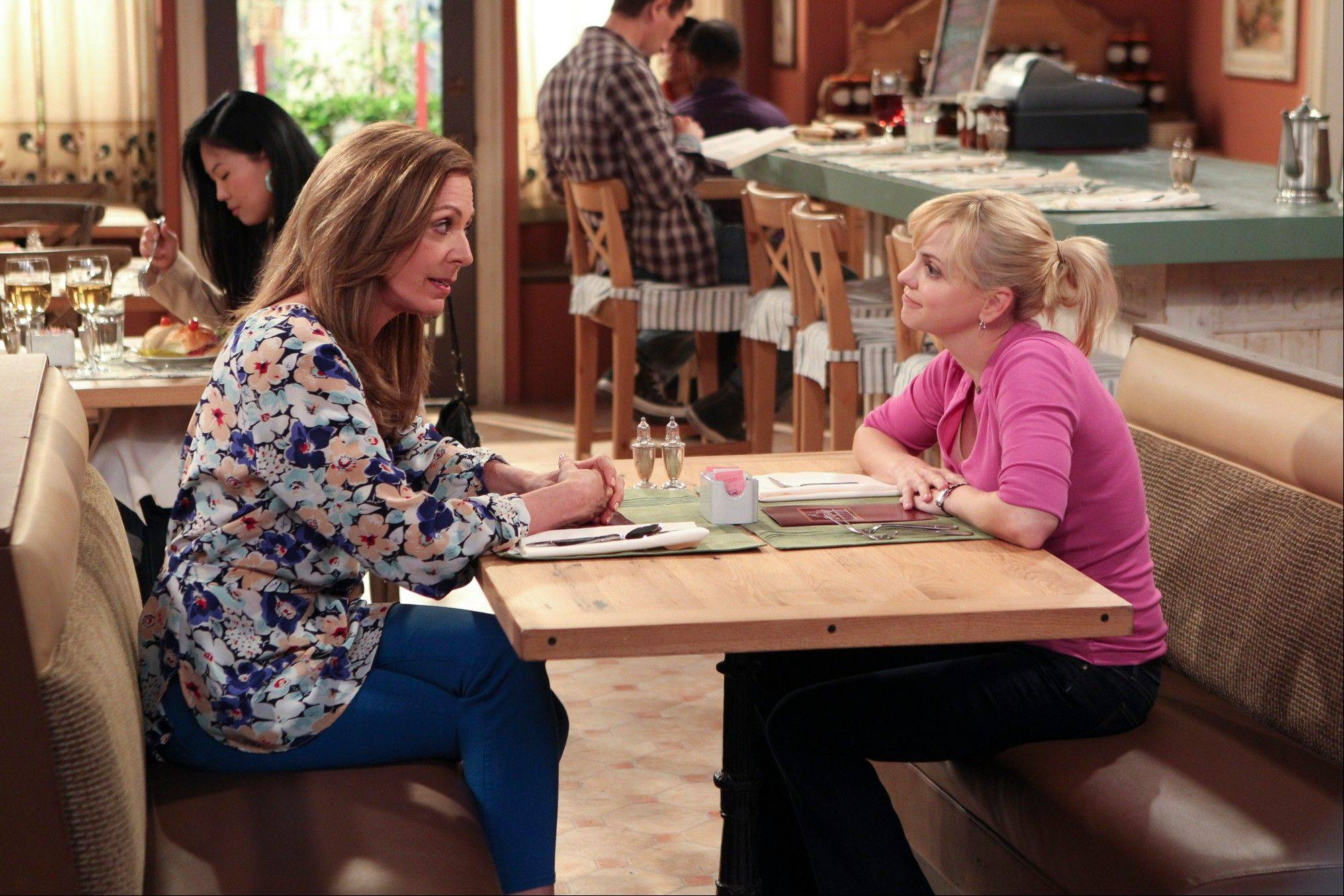Anna Faris, right, and Allison Janney star in �Mom,� premiering Monday on CBS.