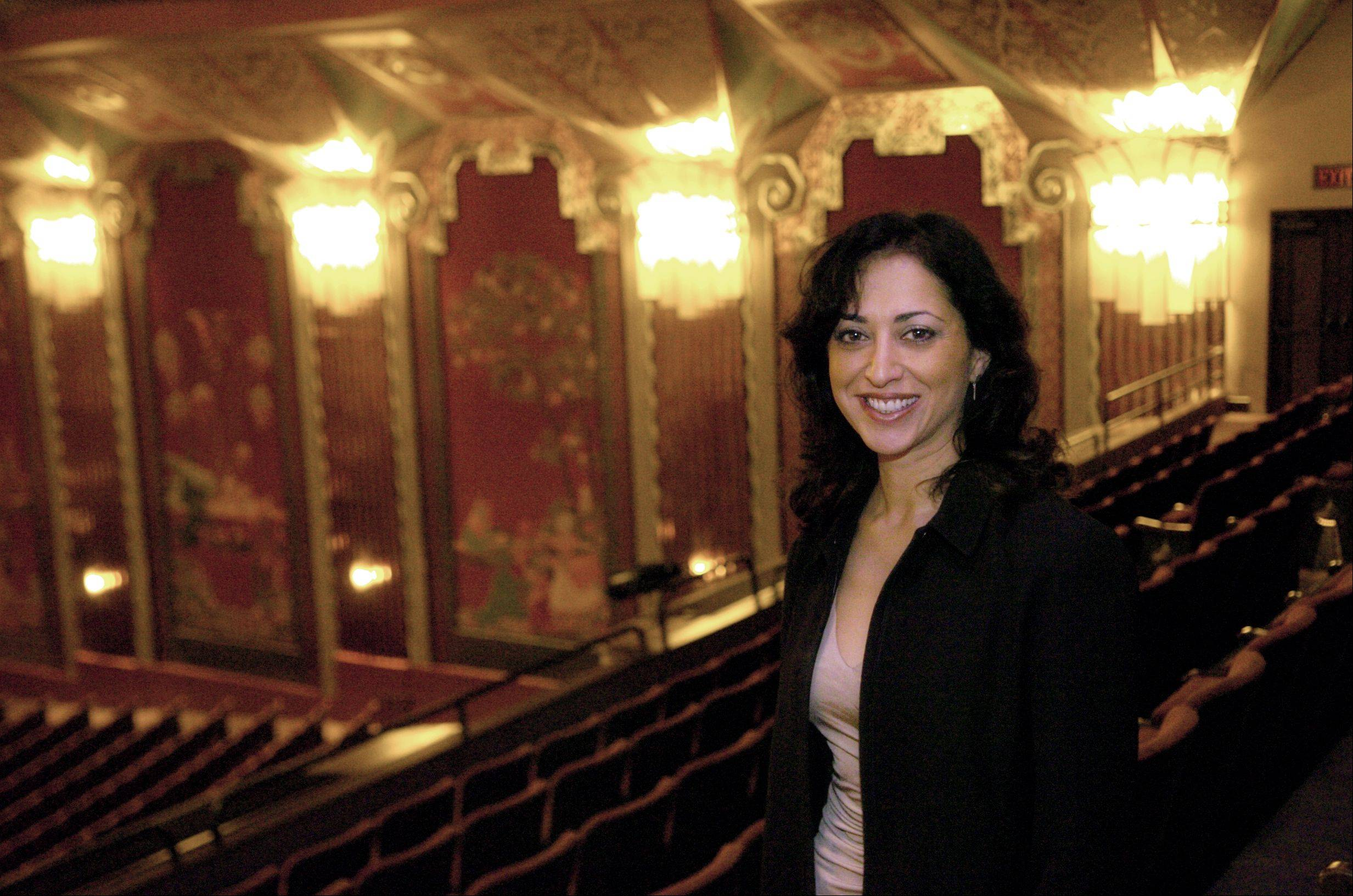 The new interim director of College of DuPage's McAninch Arts Center, Diana Martinez, also has served stints with Chicago's Second City, Pleasant Run in St. Charles and, as shown here, the Paramount Theatre in Aurora.