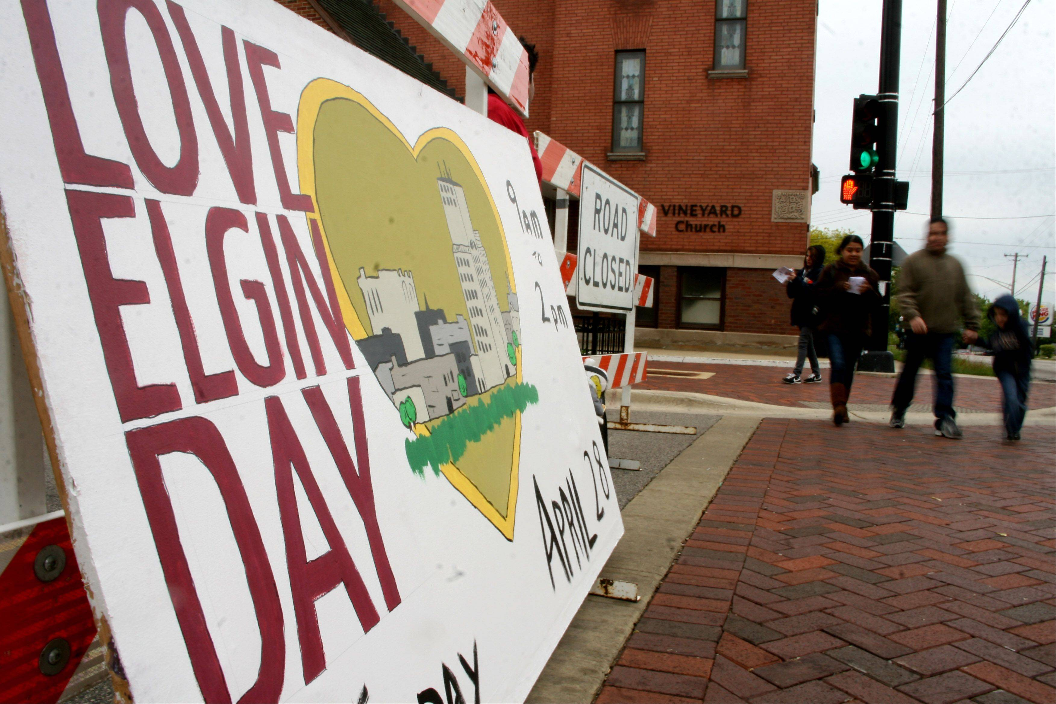 Love Elgin Day, an outreach offering food, clothing and services to the needy, will take place Saturday, Sept. 28. Up to 40 area churches will participate. This will be the fourth time the event will be held.