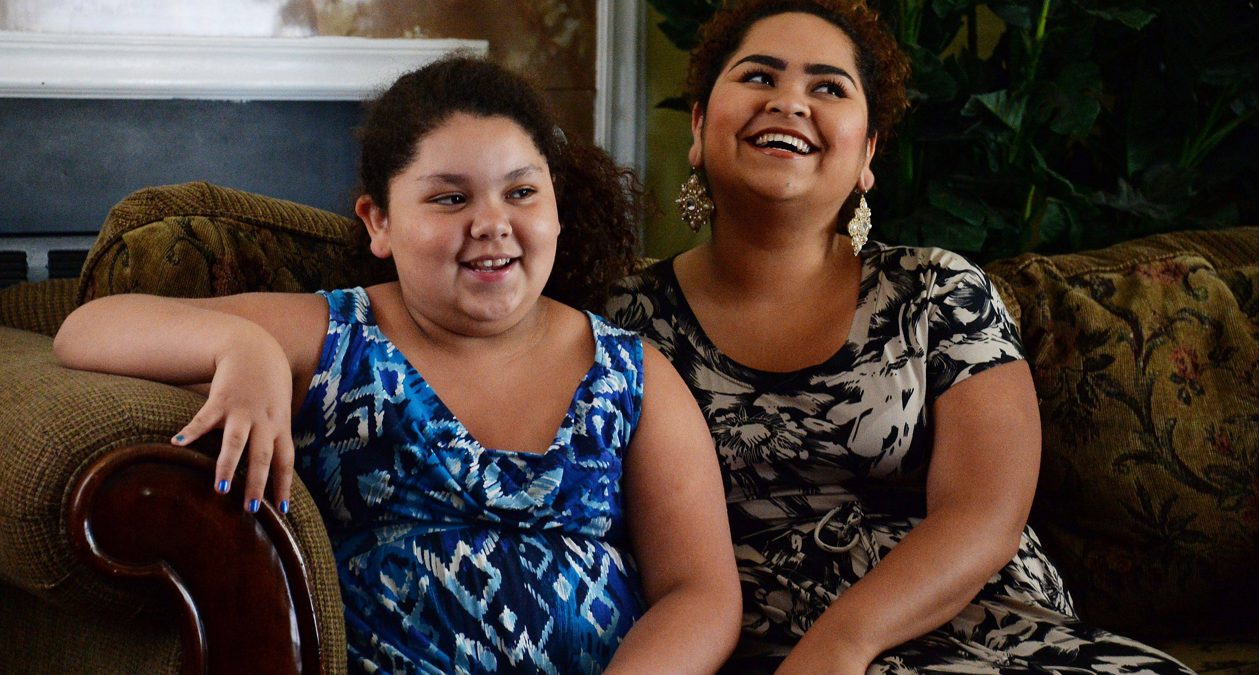 Love, determination and commitment to family helped keep Greta Ramirez, left, and her older sister Karen together after a family tragedy.