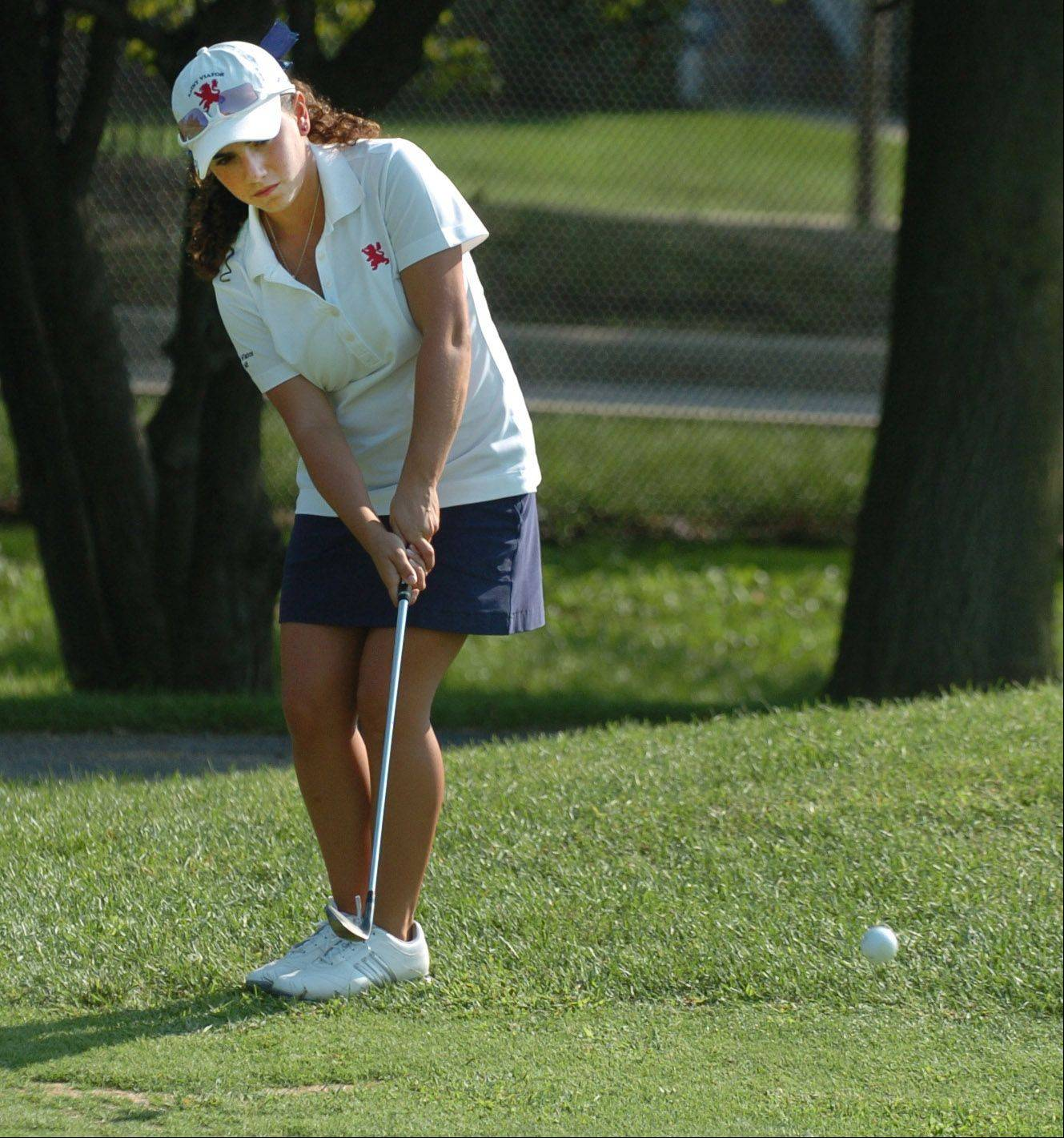 Dana Gattone of St. Viator has lined up a future in golf at Illinois.