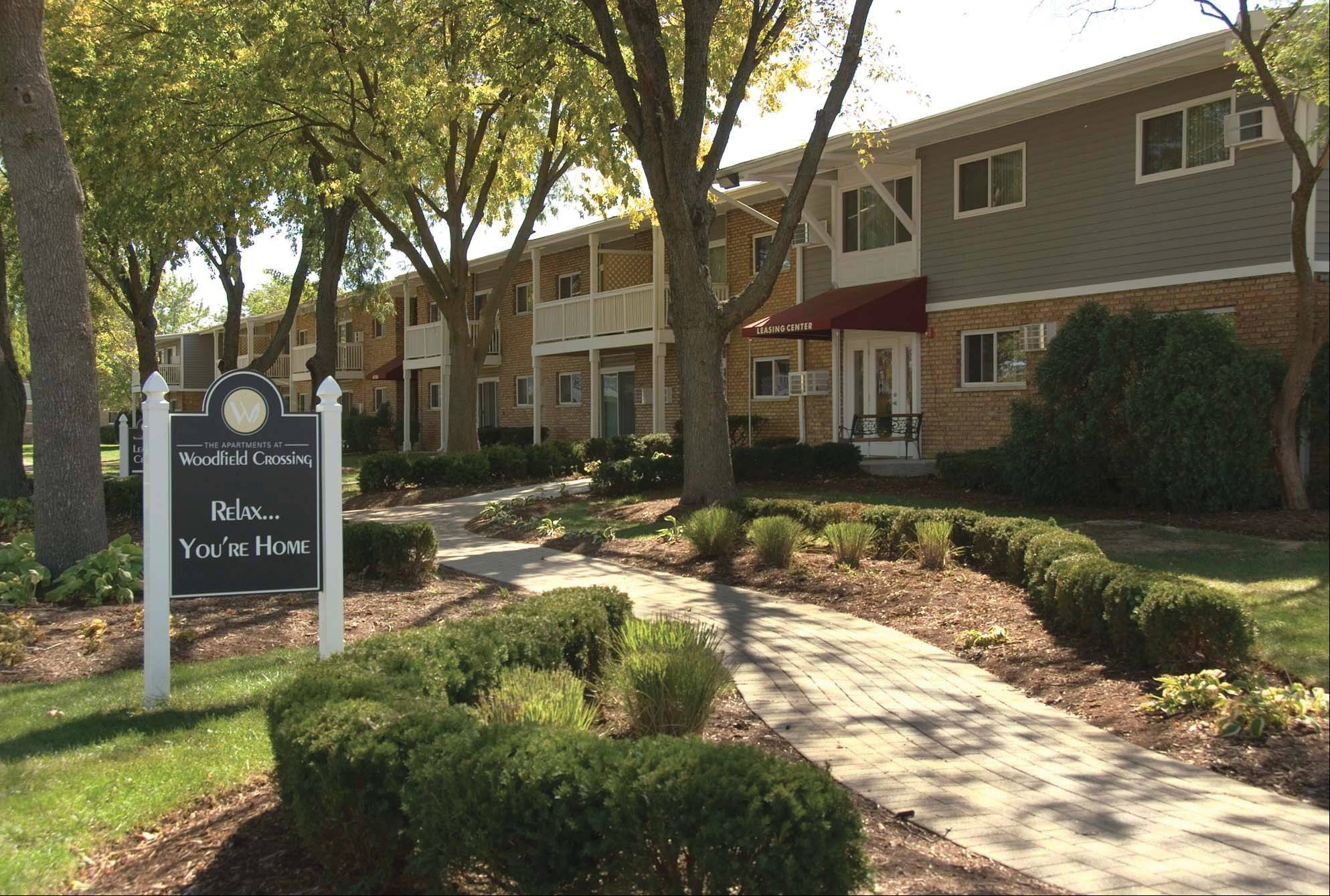 The Apartments at Woodfield Crossing in Rolling Meadows has a new owner, it was announced Tuesday. Mayor Tom Rooney said he hopes the new owner continue the work done in recent years to turn around the once troubled development.