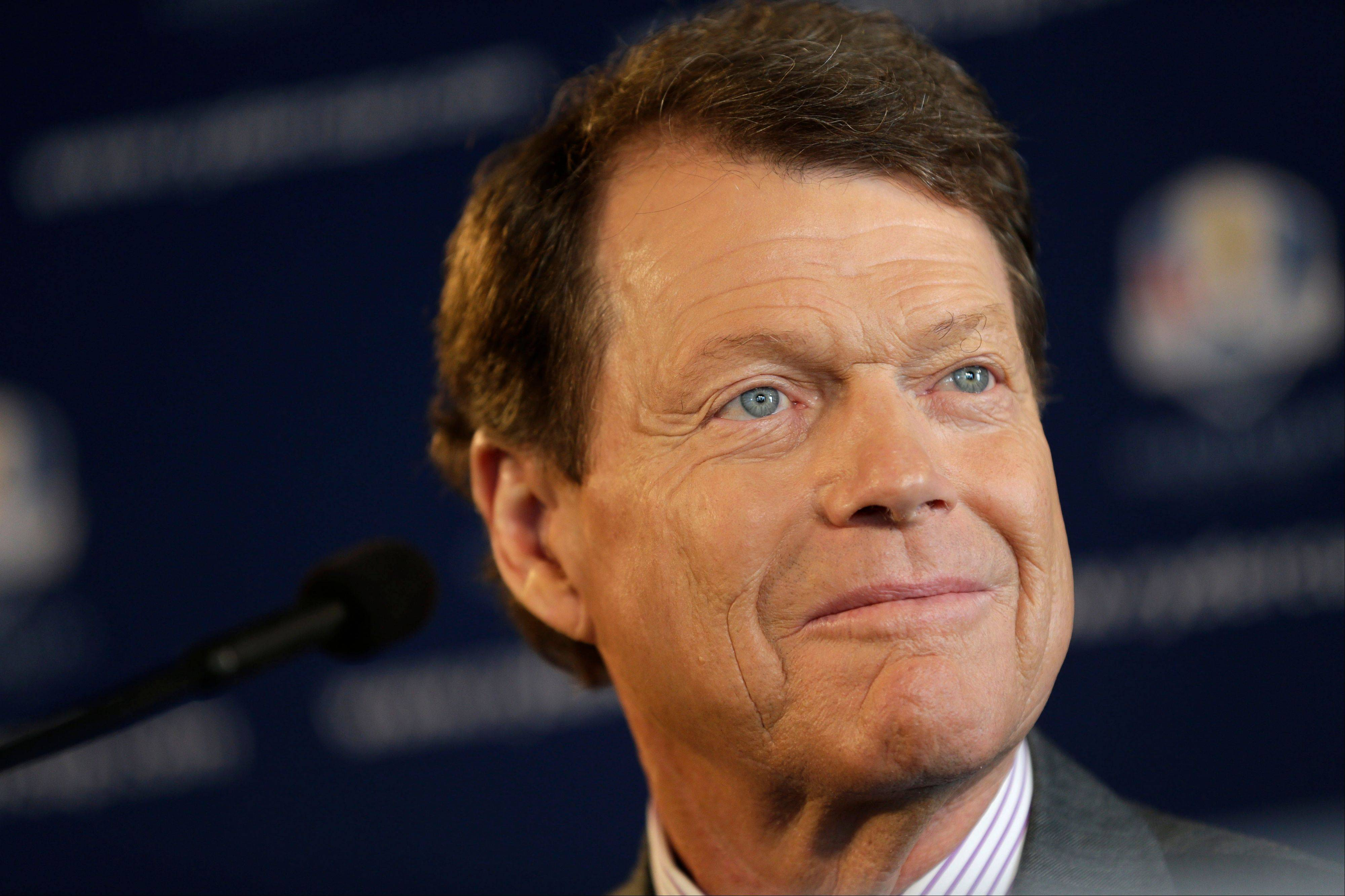 A year from now, Tom Watson and the U.S. Ryder Cup team will be competing in the 2014 tournament in Scotland, trying to win the coveted trophy they lost at Medinah.