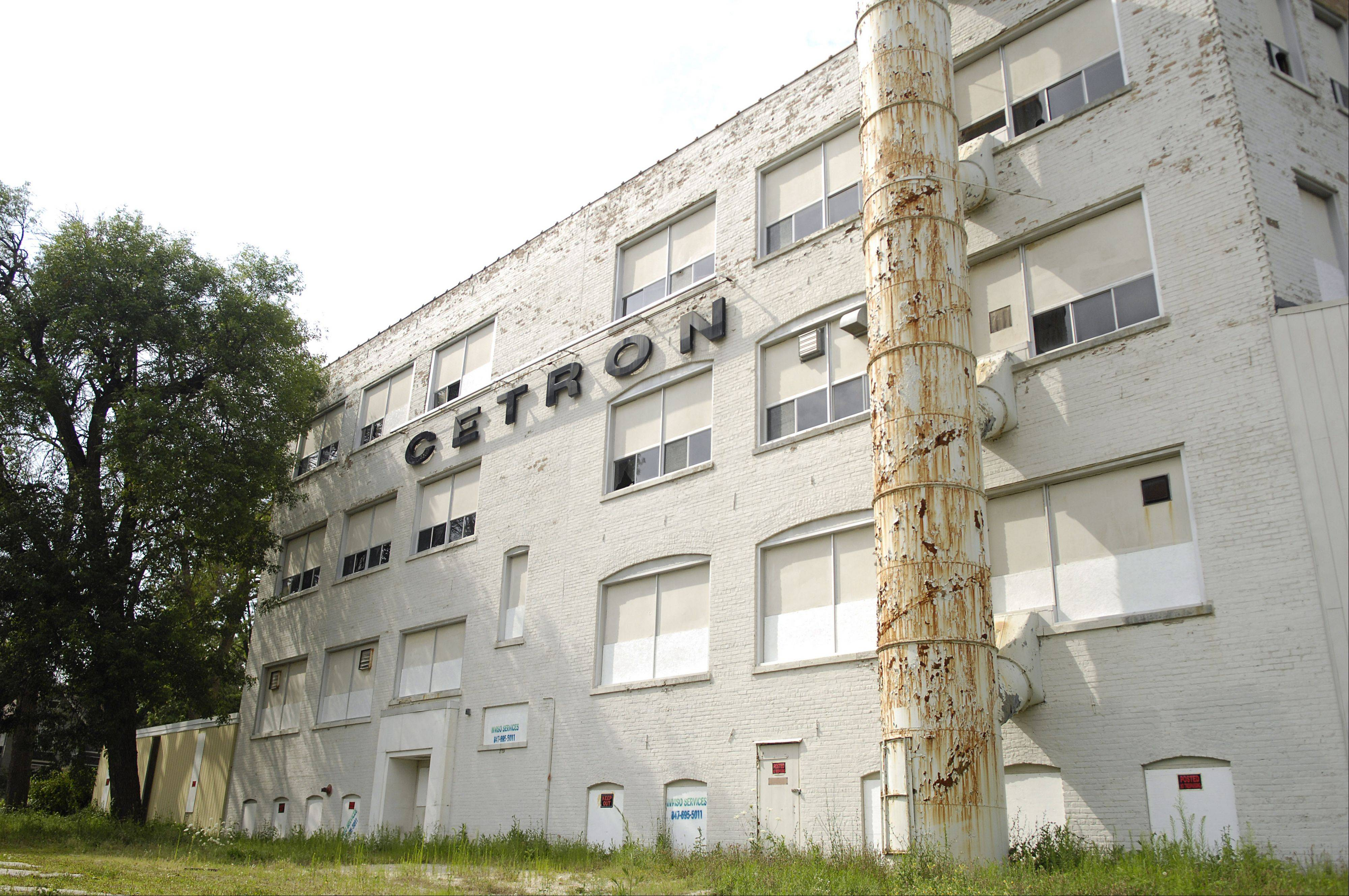 The Geneva Public Library has abandoned plans to buy the former Cetron factory on Richards Street.