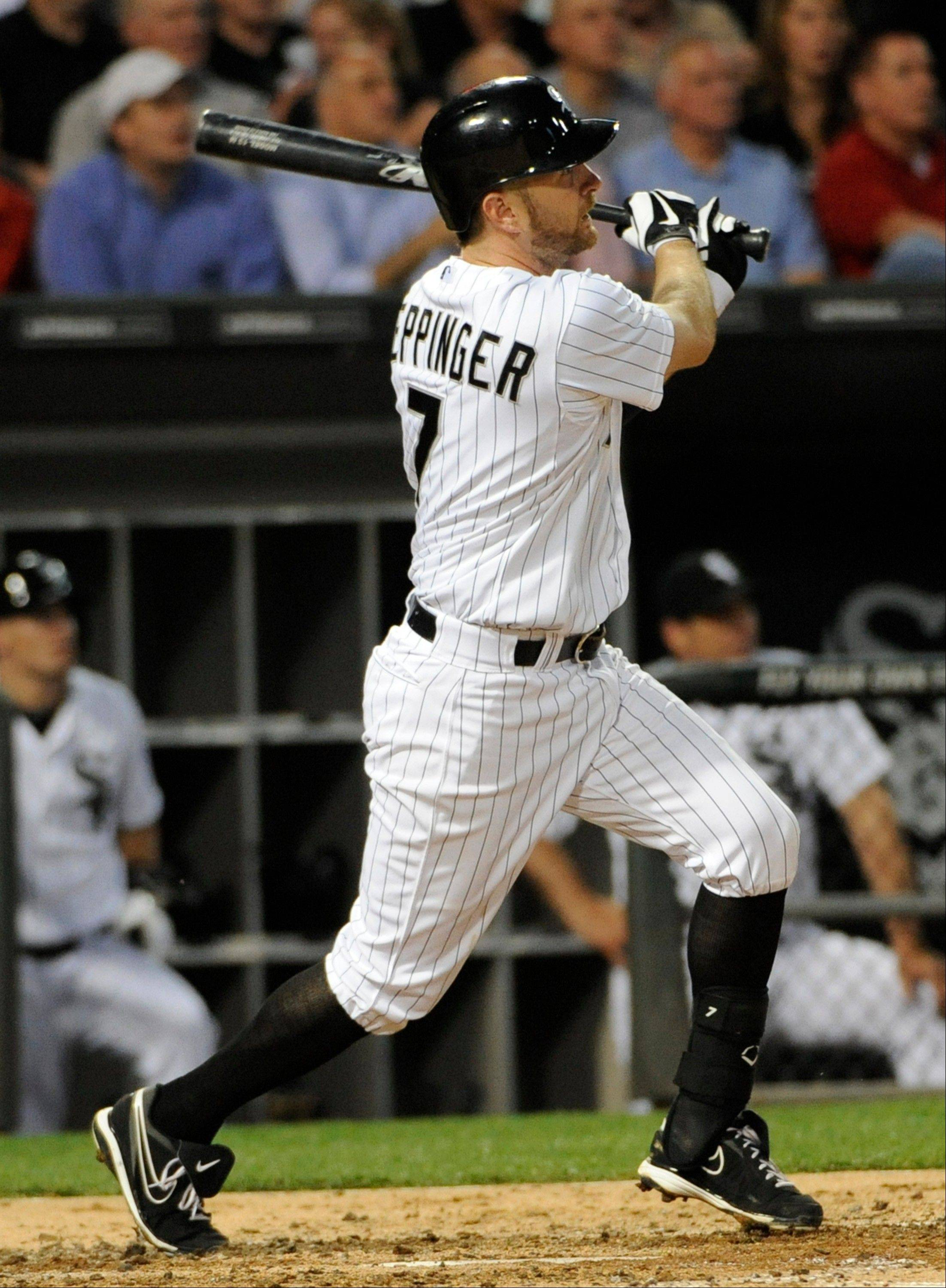 With just a .283 on-base percentage, Jeff Keppinger ranked 102nd out of 105 AL hitters with 400 or more at-bats.