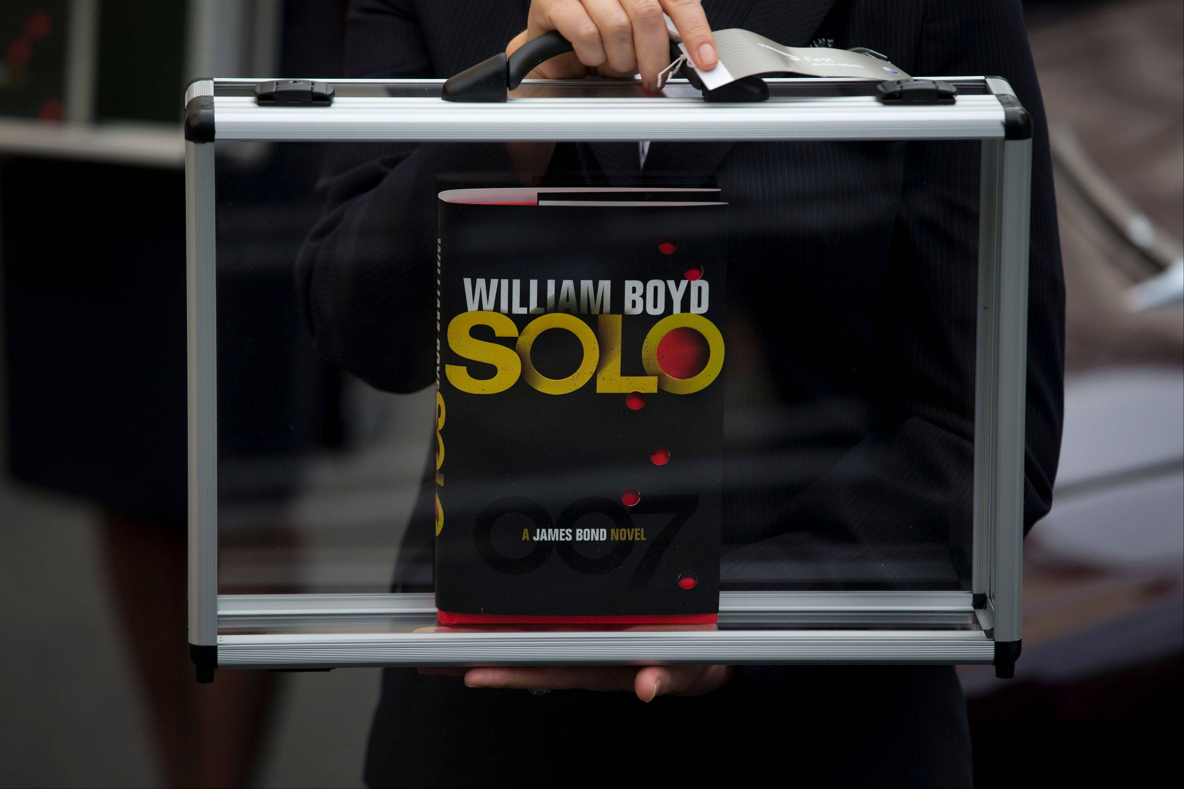 The new James Bond novel �Solo� is set in 1969 and takes the suave British spy, 45 years old and feeling his age, from London�s plush Dorchester Hotel to a war-torn West African country and to Washington.