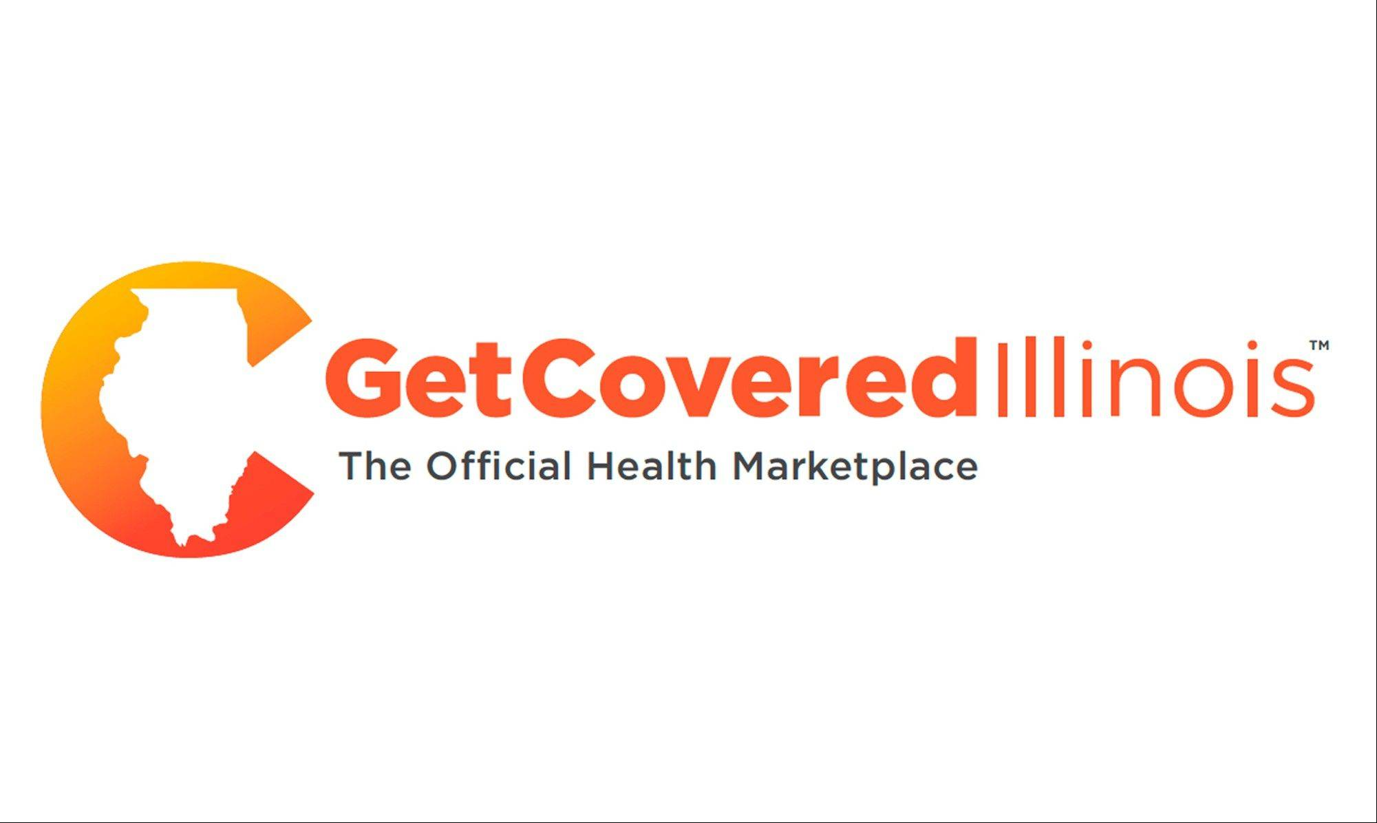 This image provided by Illinois Gov. Pat Quinn's office shows the logo and brand name that officials unveiled Wednesday for the new health insurance marketplace set to open Tuesday. The brand and logo are part of a multimillion-dollar ad campaign beginning Tuesday and building through the fall and winter. Uninsured Illinoisans have until the end of March to buy health insurance through Get Covered Illinois.