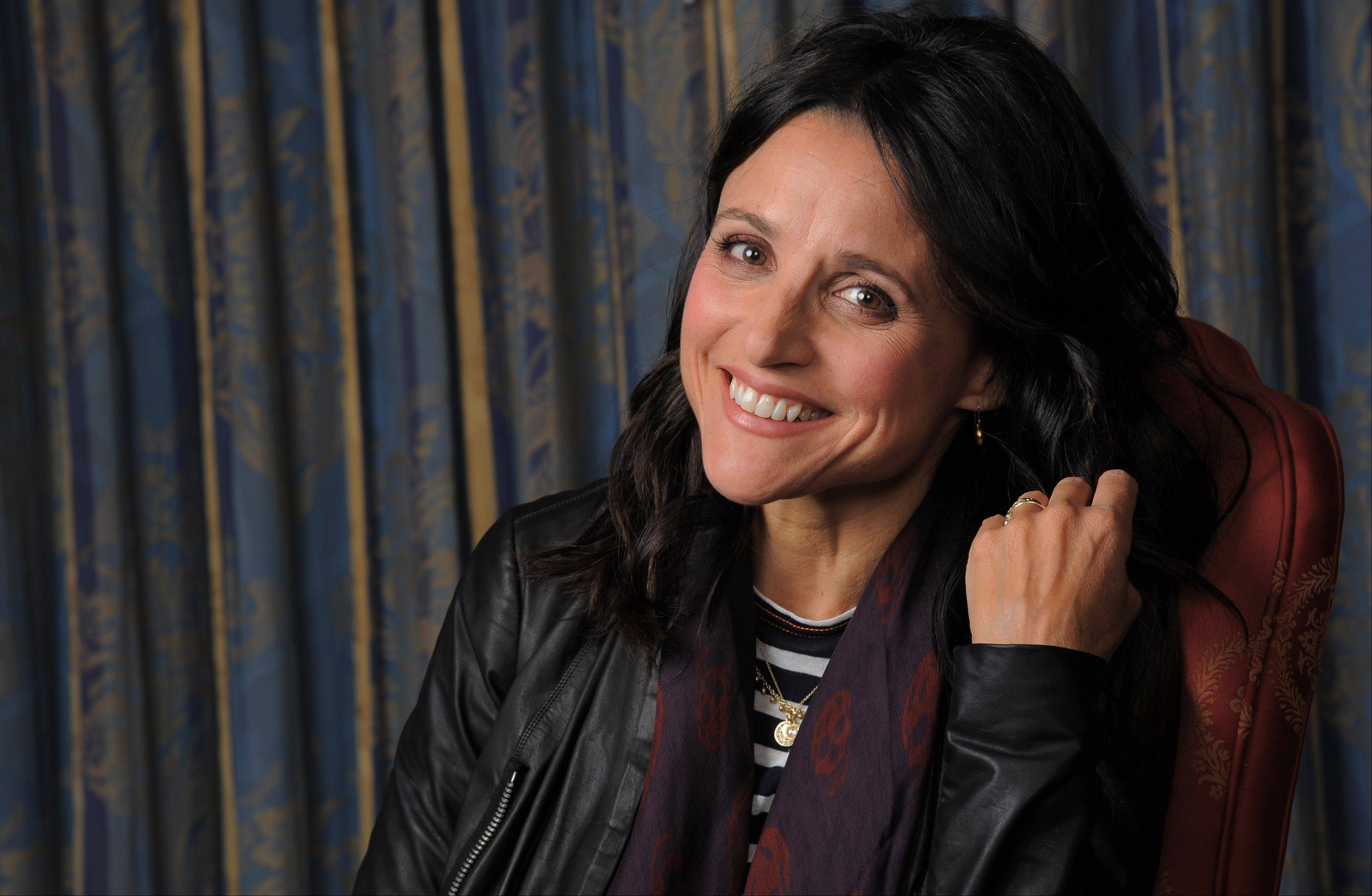 "In ""Enough Said,"" Julia Louis-Dreyfus finally transfers her comedic gifts to the big screen."