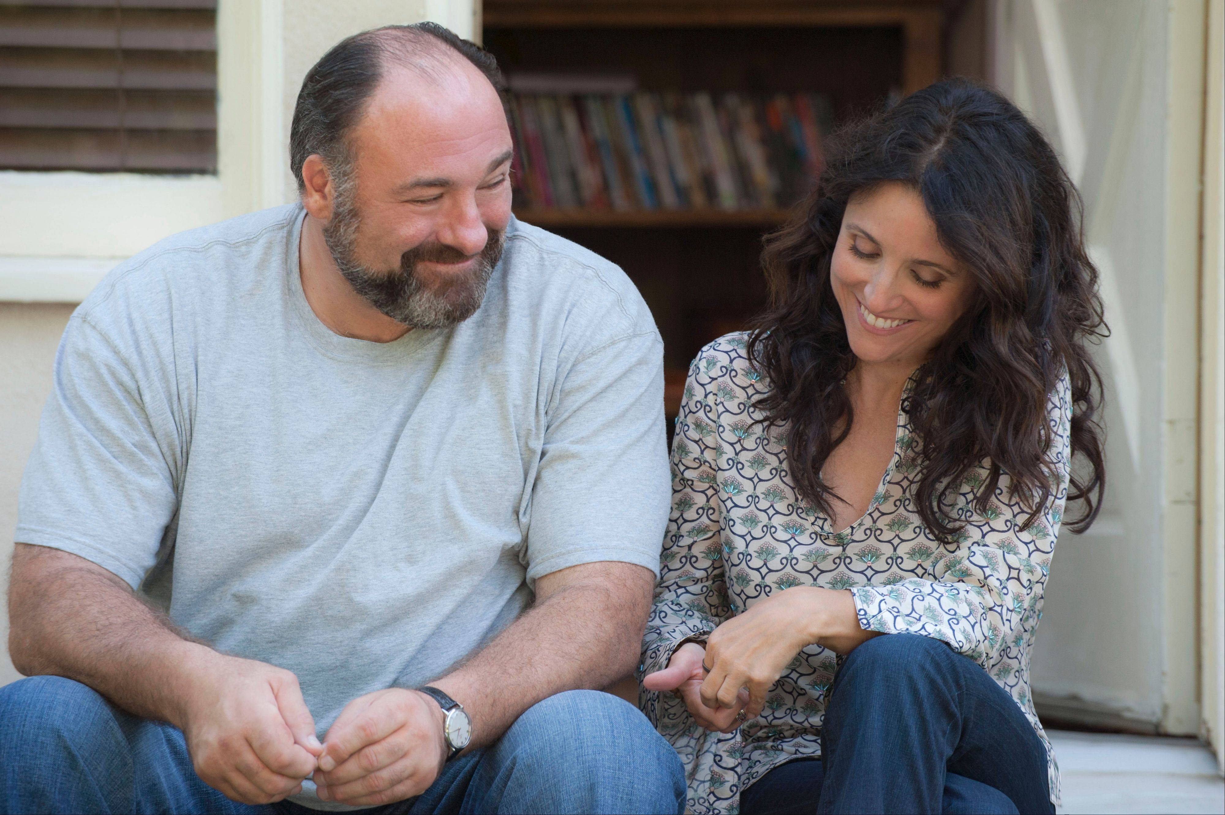 "Julia Louis-Dreyfus stars with James Gandolfini in ""Enough Said,"" being released in theaters Wednesday."