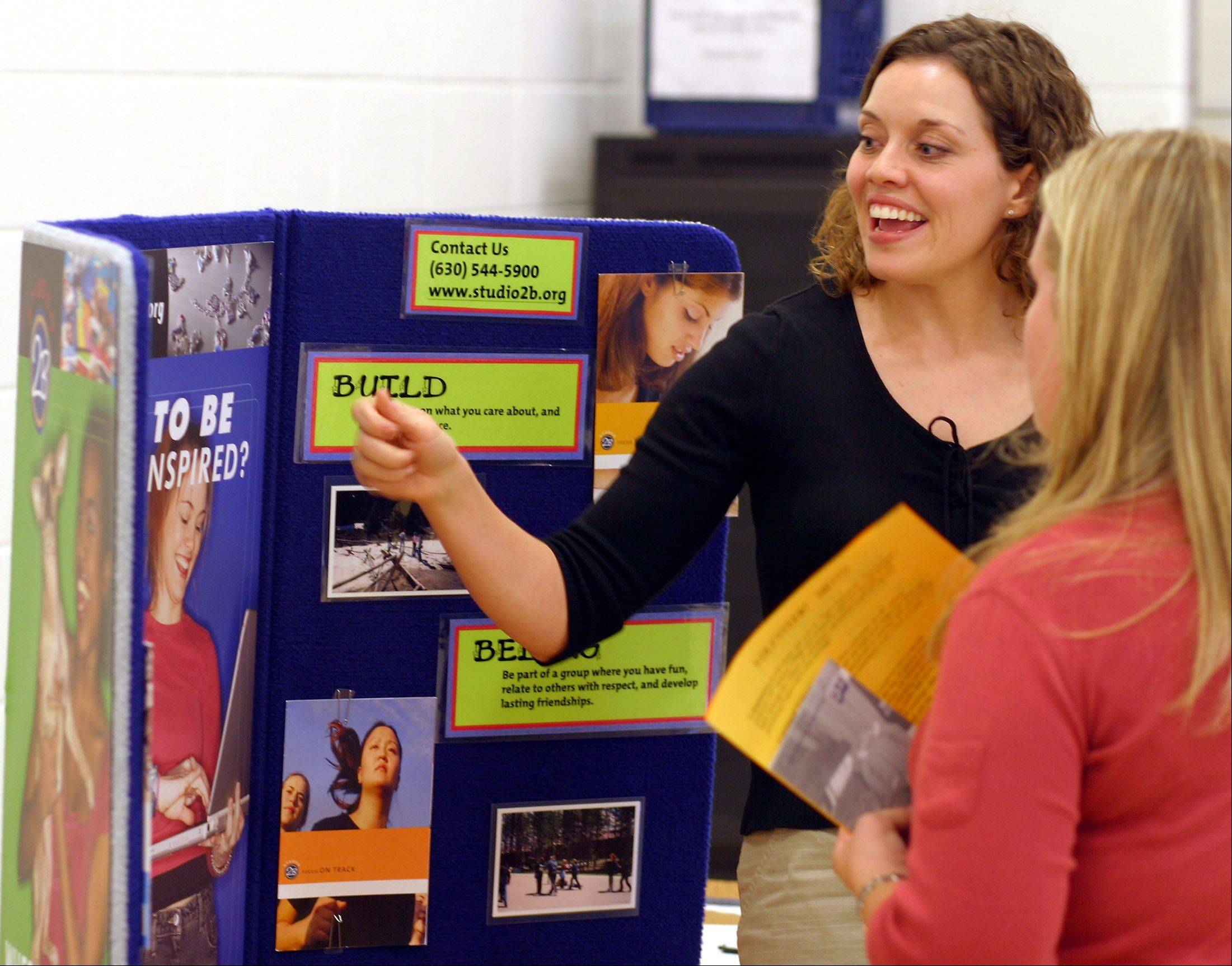 Teens and their families can gather information about more than 25 Naperville-area nonprofit organizations during the 11th annual KidsMatter Youth Volunteer Fair.