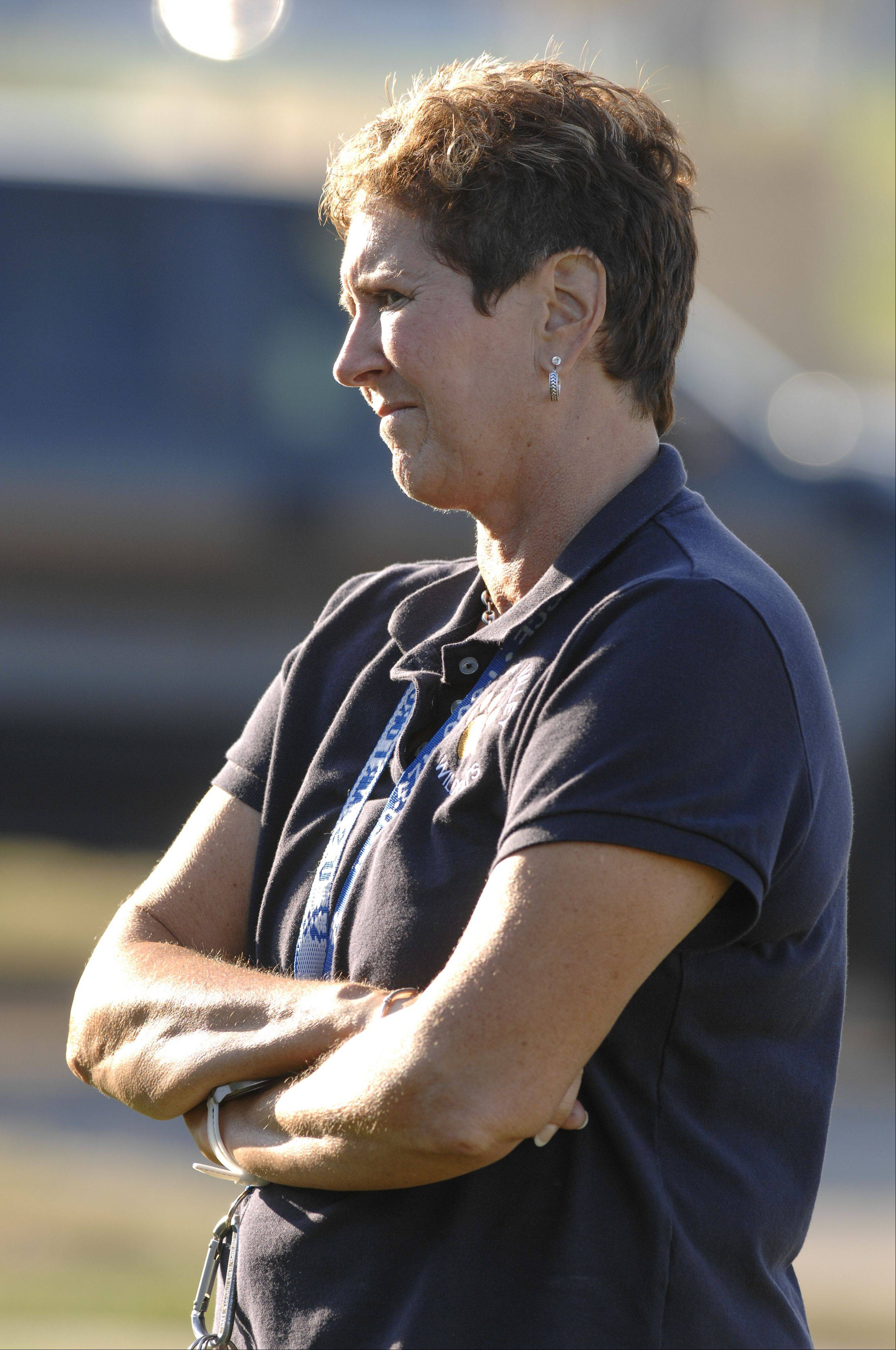 Trudy Bennorth, Neuqua Valley in girls tennis coach.