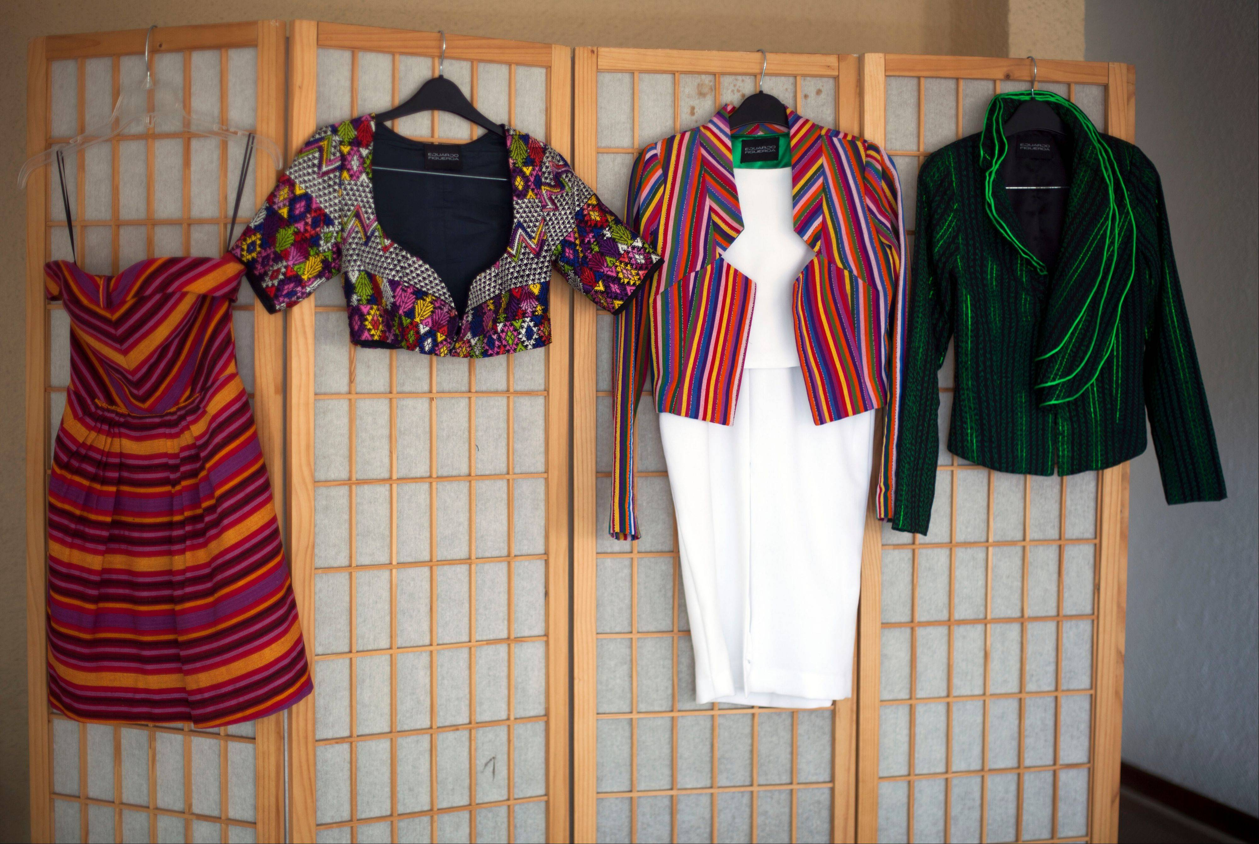 Guatemalan Eduardo Figueroa, a high-couture designer, said modernizing Mayan designs helps non-indigenous people appreciate this �ethnic� fashion.