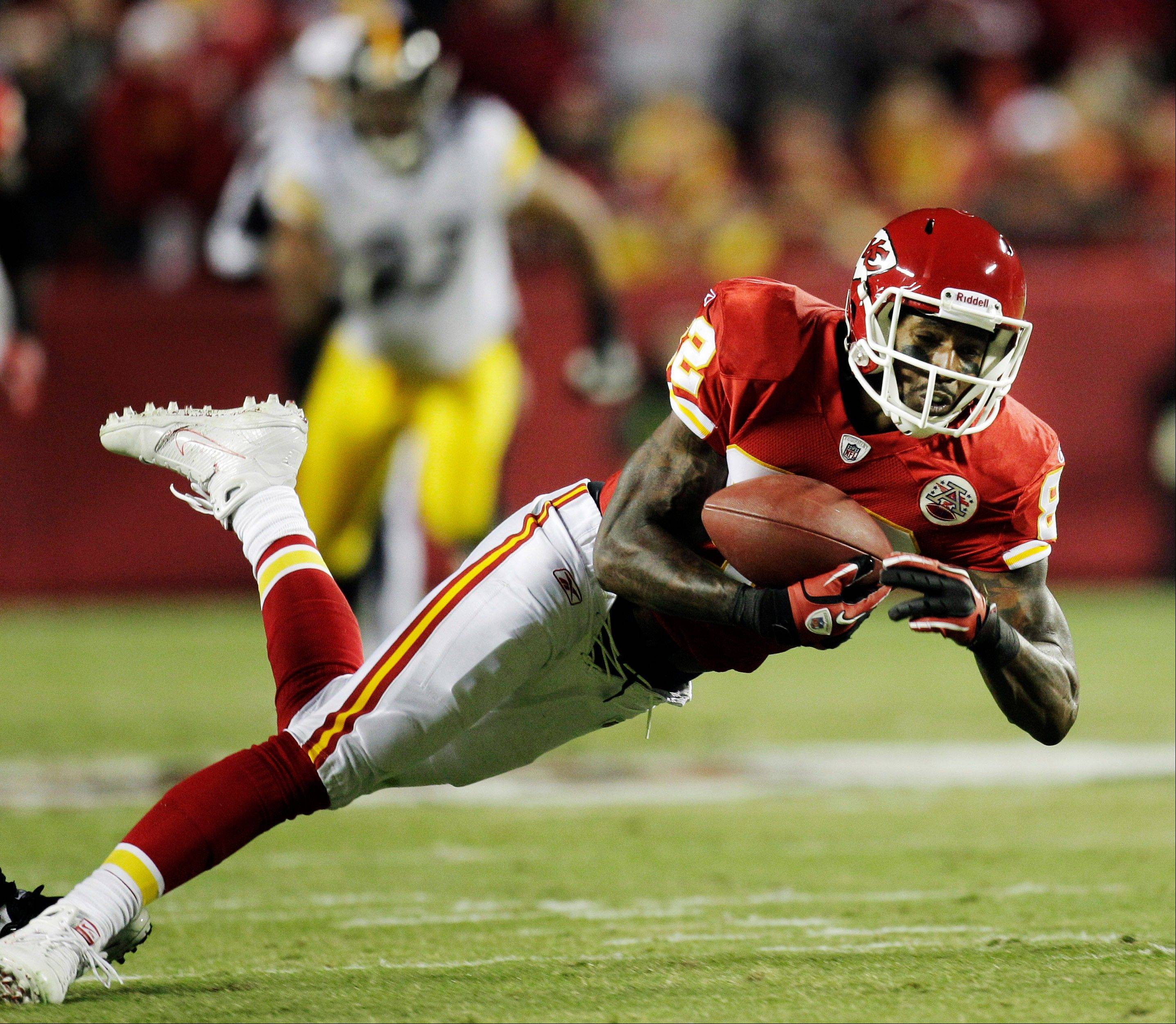 Chiefs WR Dwayne Bowe had just 1 catch for 4 yards in Week 3, leaving his fantasy owners with the dreaded goose egg.