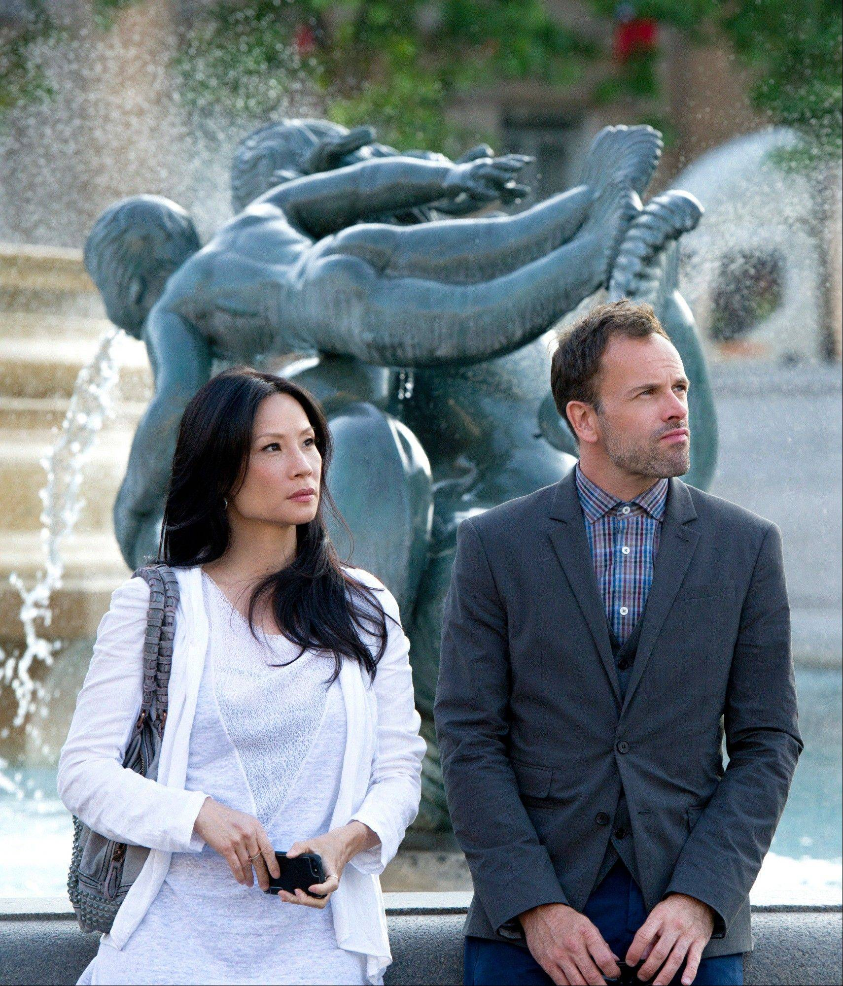 "CBS took a risk with ""Elementary"" last year -- and it paid off. Sherlock Holmes (Jonny Lee Miller), right, and Watson (Lucy Liu) are returning for a second season."