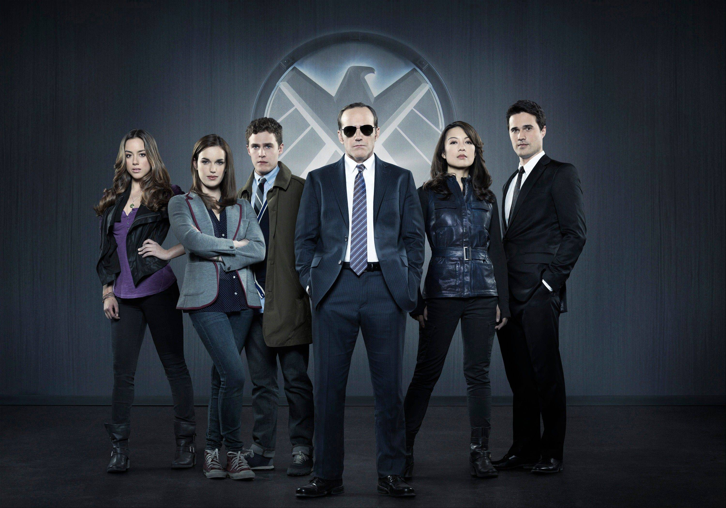 """Marvel's Agents of S.H.I.E.L.D"" -- starring Chloe Bennet, left, Elizabeth Henstridge, Iain De Caestecker, Clark Gregg, Ming-Na Wen and Brett Dalton -- had the best ratings of any new broadcast drama in four years on all of broadcast television among the 18-to-49-year-old demographic."