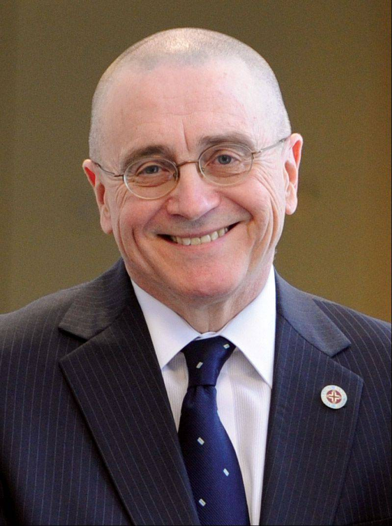 Benedictine University President William Carroll