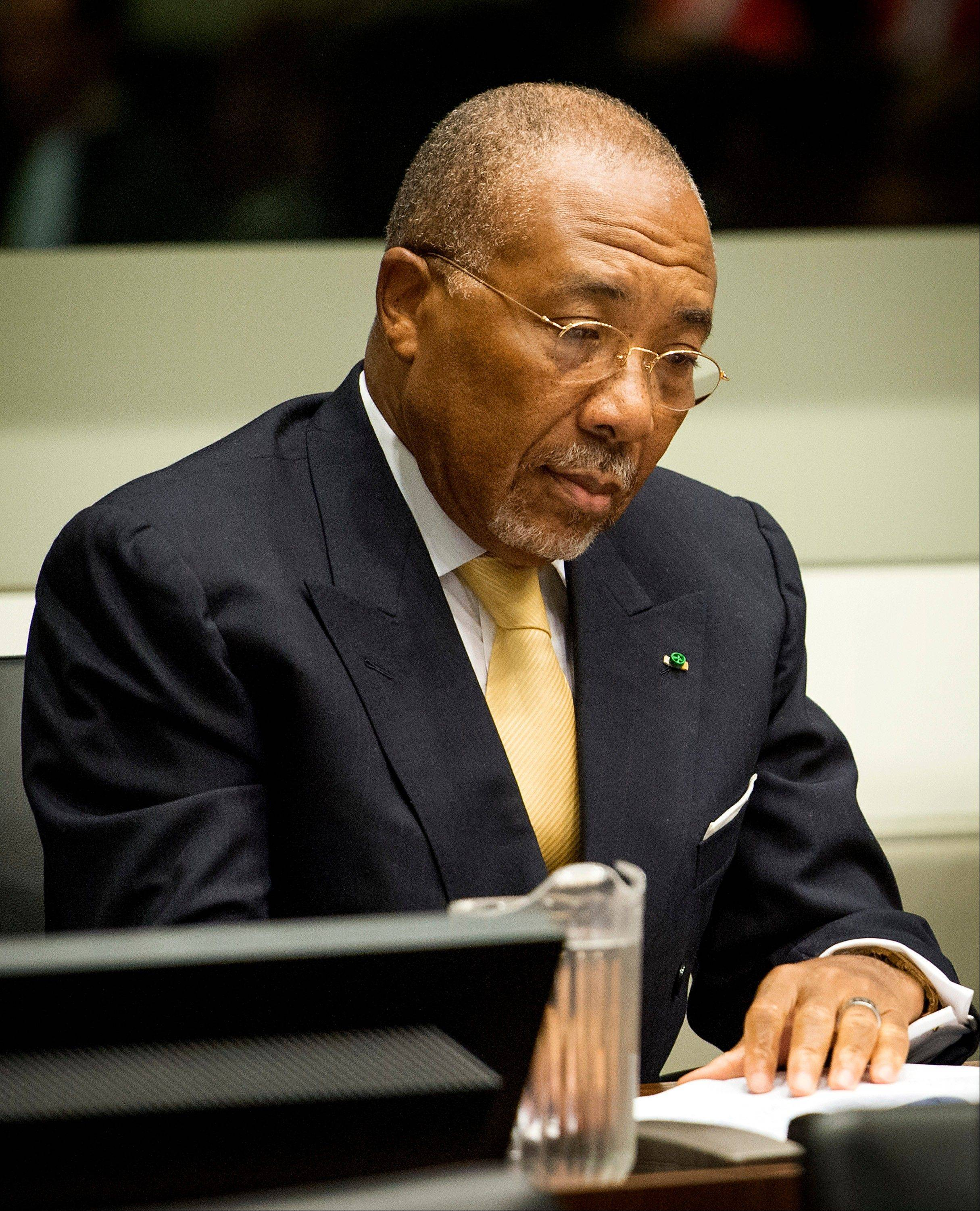 An international war crimes court upheld the conviction and 50-year sentence of former Liberian President Charles Taylor for aiding rebels in Sierra Leone, ruling Thursday that his financial, material and tactical support fueled horrendous crimes against civilians.
