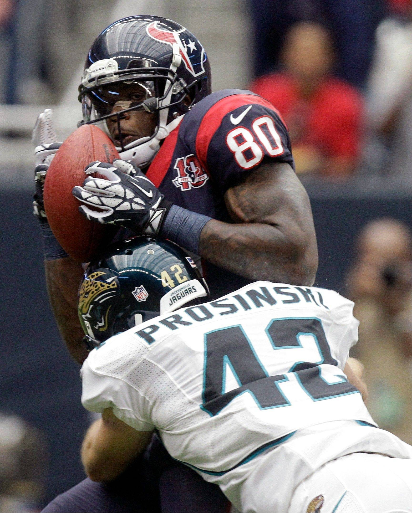 Texans WR Andre Johnson is banged up and facing a tenacious Seahawks defense in Week 4.