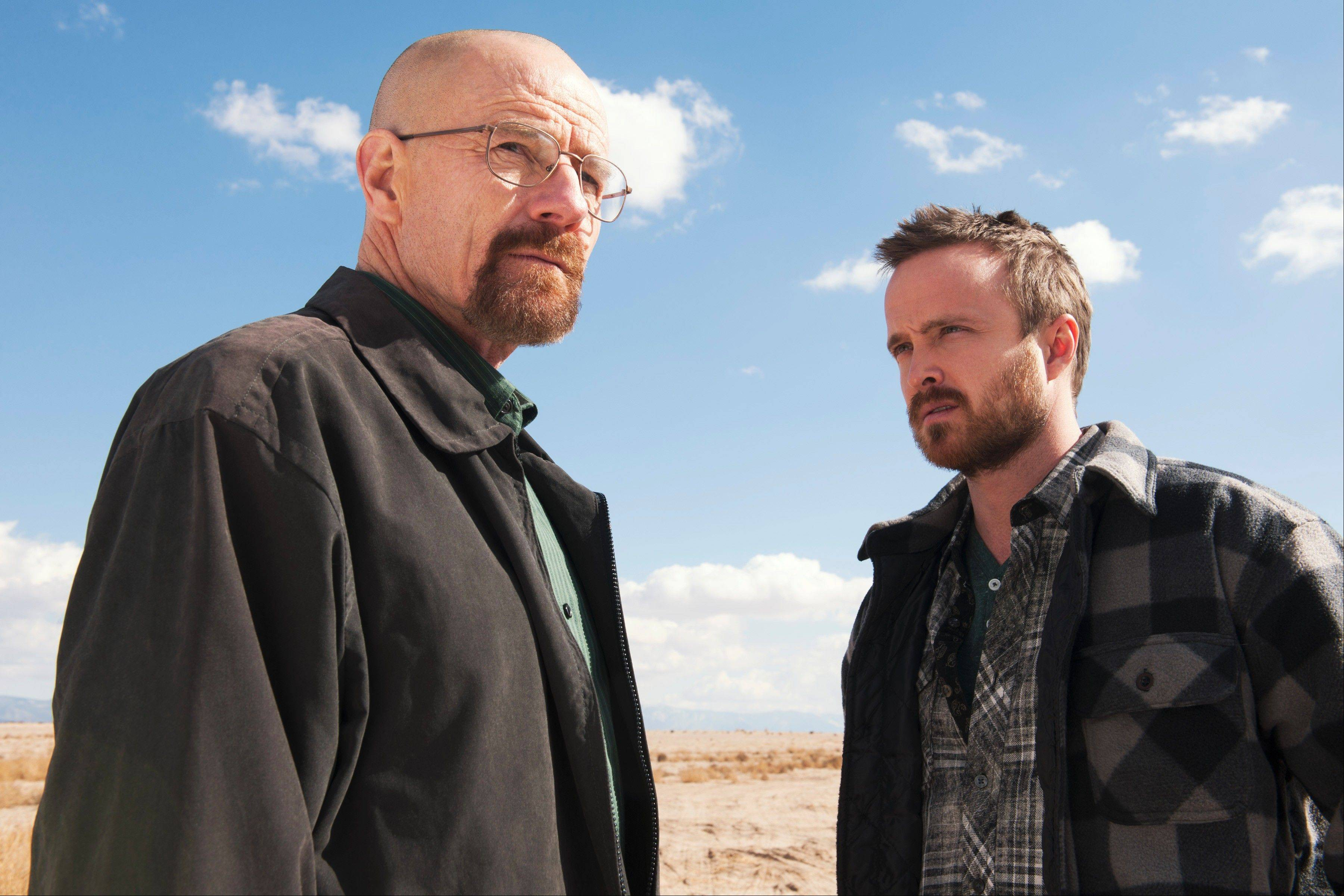 "The ""Breaking Bad"" saga of Walter White (Bryan Cranston) and Jesse Pinkman (Aaron Paul) comes to an end Sunday on AMC."