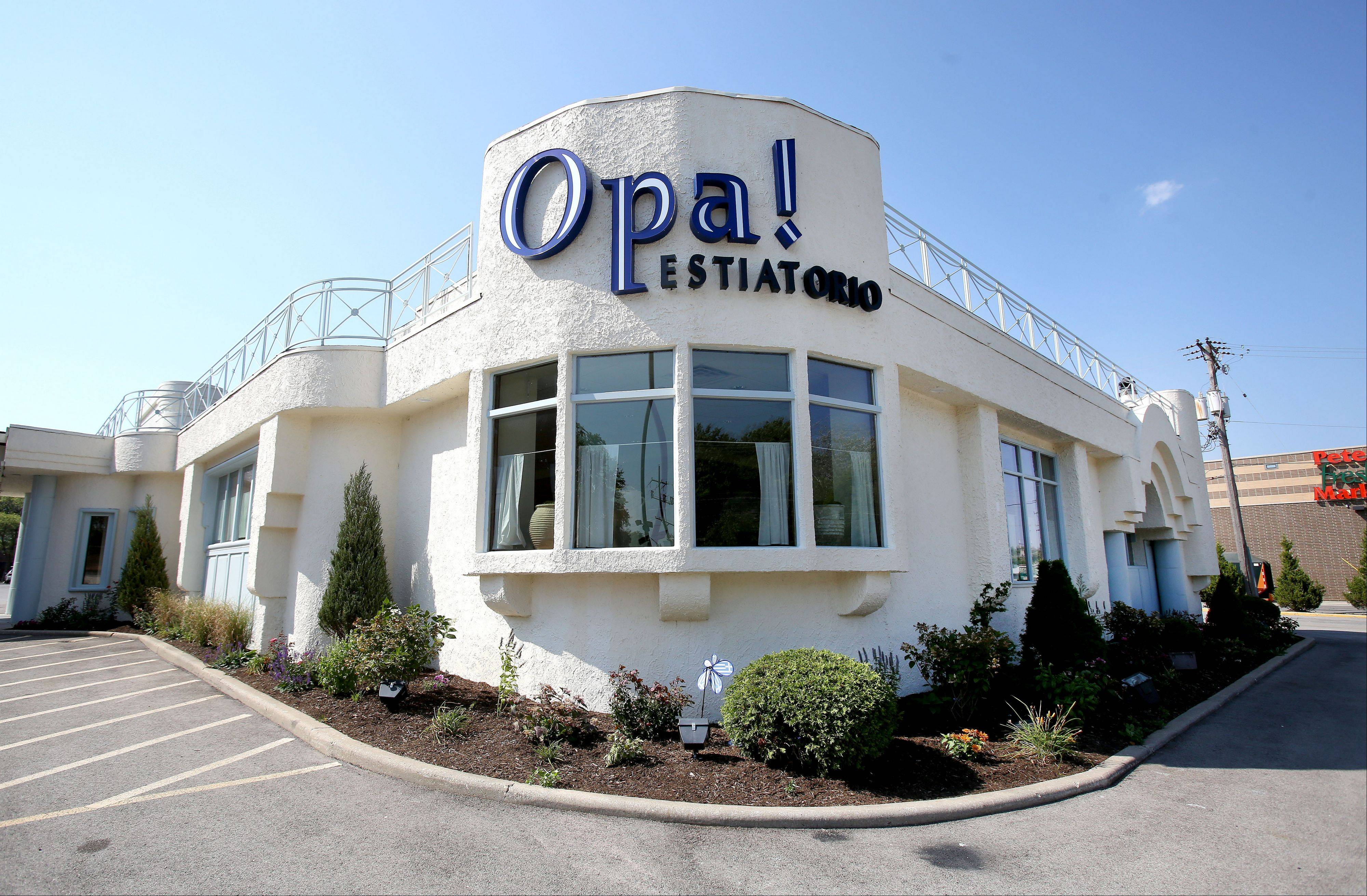 Opa! Estiatorio moved in to the former Costa's site in Oakbrook Terrace.