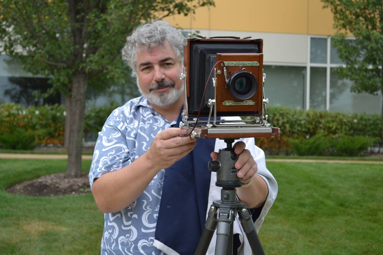 College of DuPage Professor of Photography Jeff Curto