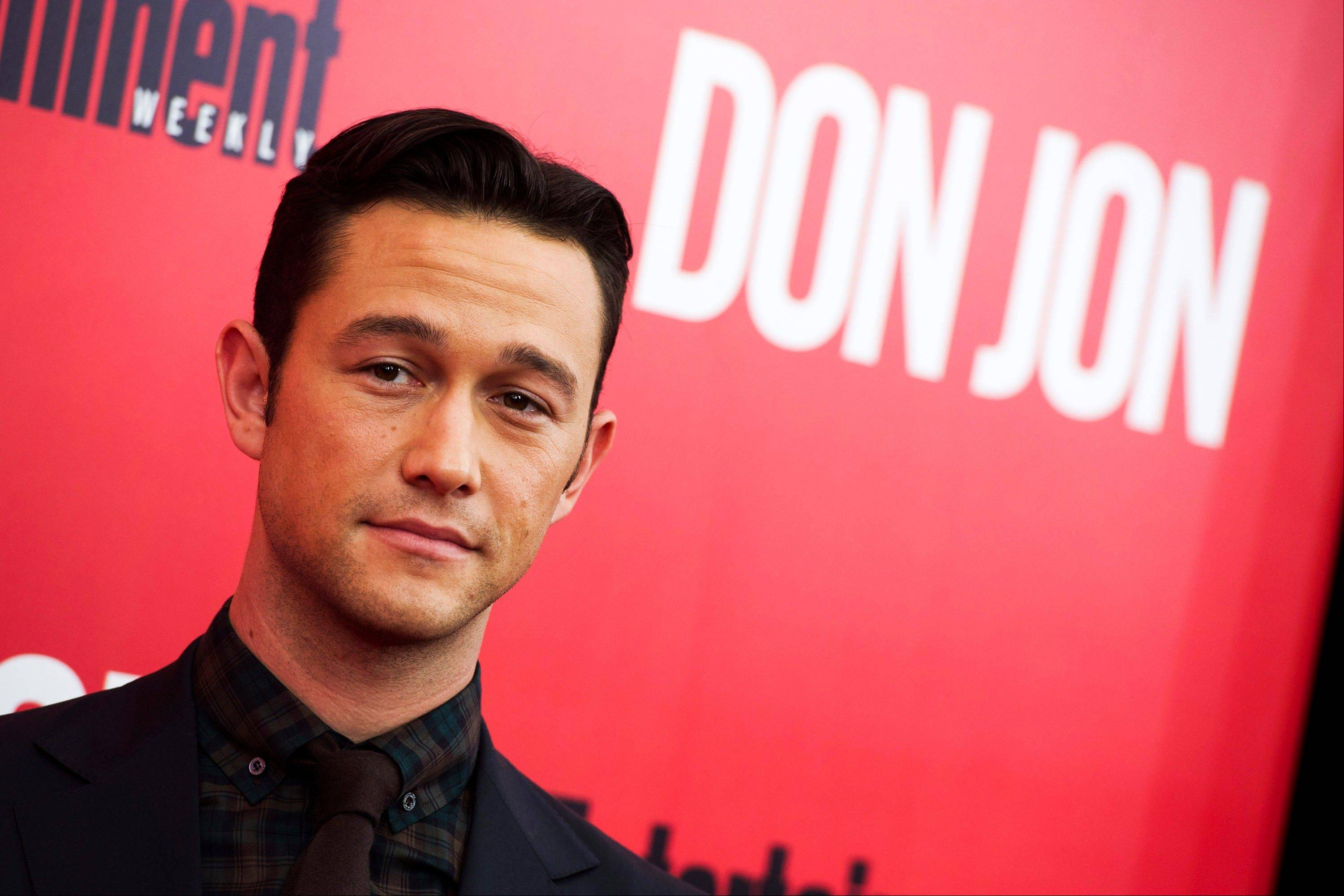 Joseph Gordon-Levitt attends the �Don Jon� premiere in New York. Gordon-Levitt wrote and directed the film, which opened nationwide Friday.