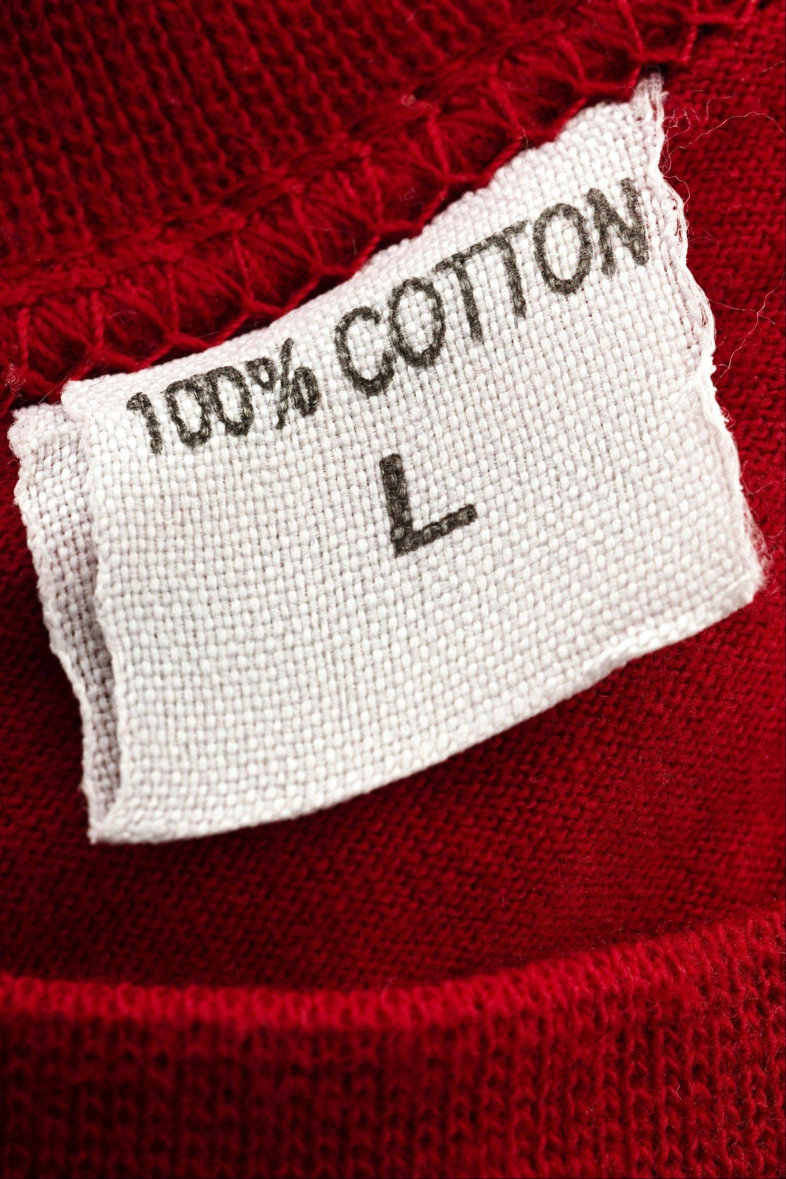 The invention of cotton clothing has saved lives since cotton is easier to clean than wool and less hospitable to body lice.