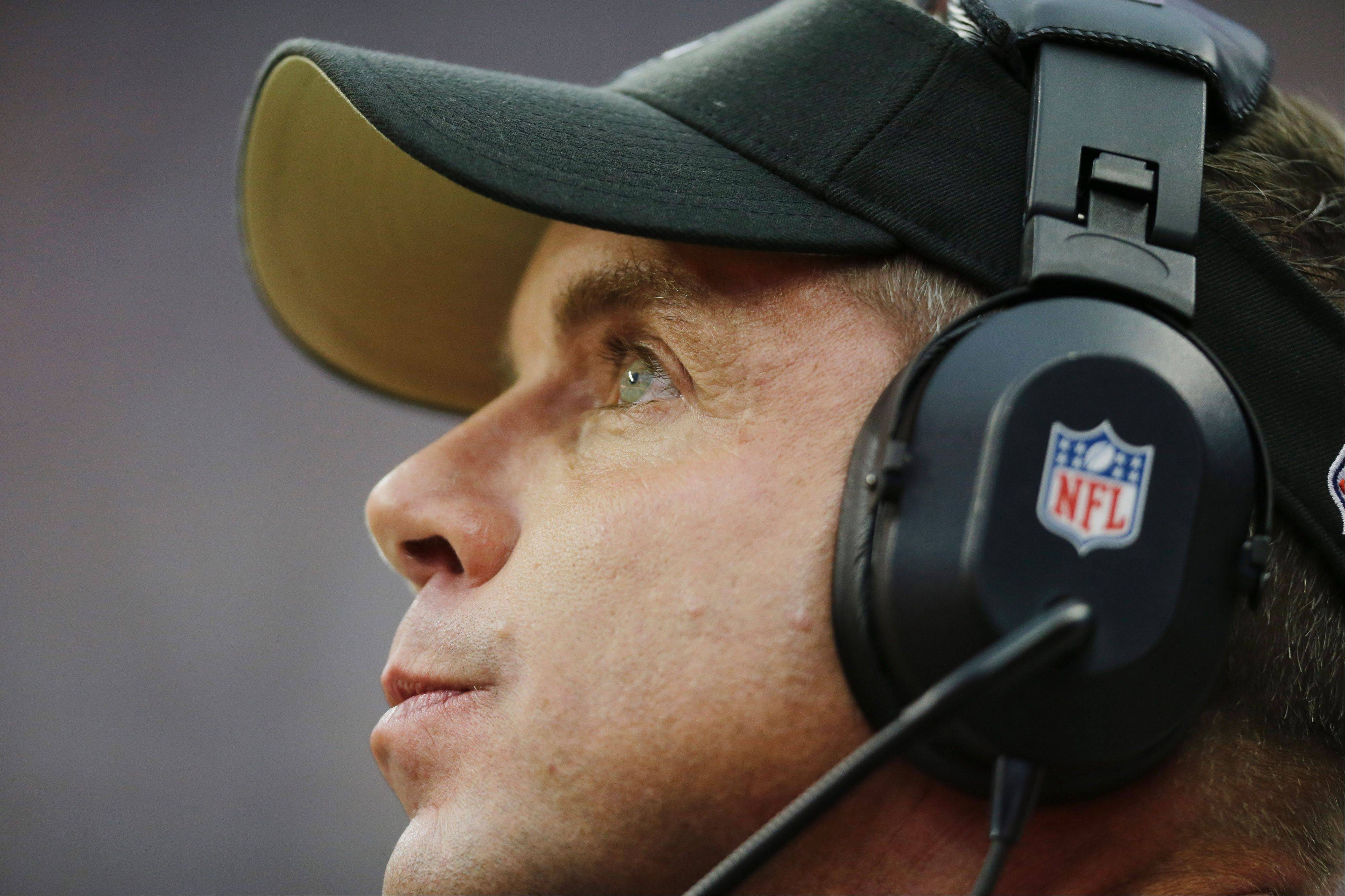 "Saints coach Sean Payton said the toughest thing about being away last season was ""the butterflies on Sunday morning"" and ""the interaction with the people that you are closest to."""