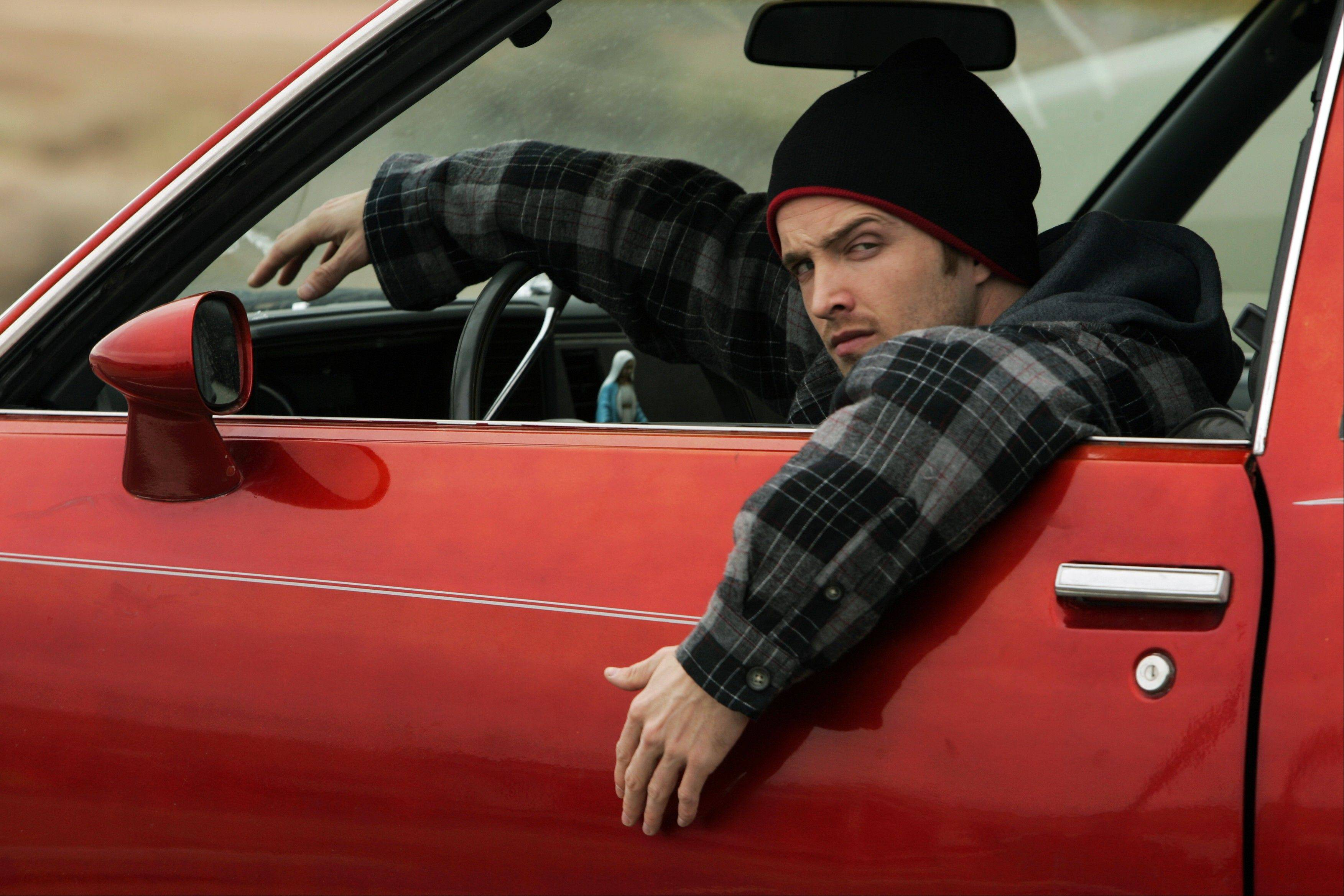 "Chances are good Jesse Pinkman (Aaron Paul) is up to no good in the pilot episode of ""Breaking Bad."" The series finale of the popular drama series airs on Sunday."